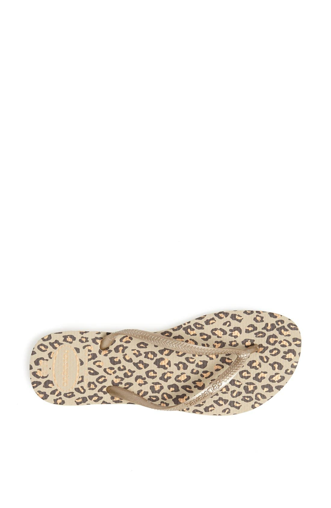 Alternate Image 3  - Havaianas 'Slim Animal Print' Flip Flop (Women)