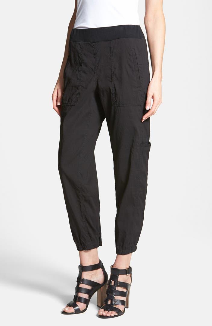 Eileen Fisher Cargo Ankle Pants Regular Amp Petite Nordstrom
