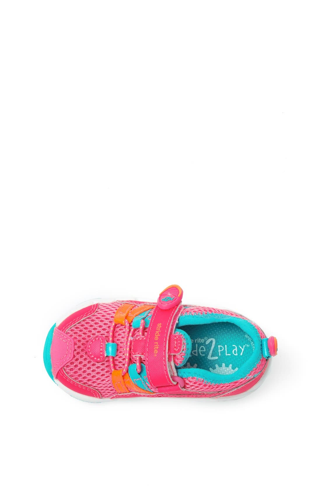 Alternate Image 3  - Stride Rite 'Made 2 Play™ - Aqua' Sneaker (Baby, Walker & Toddler)