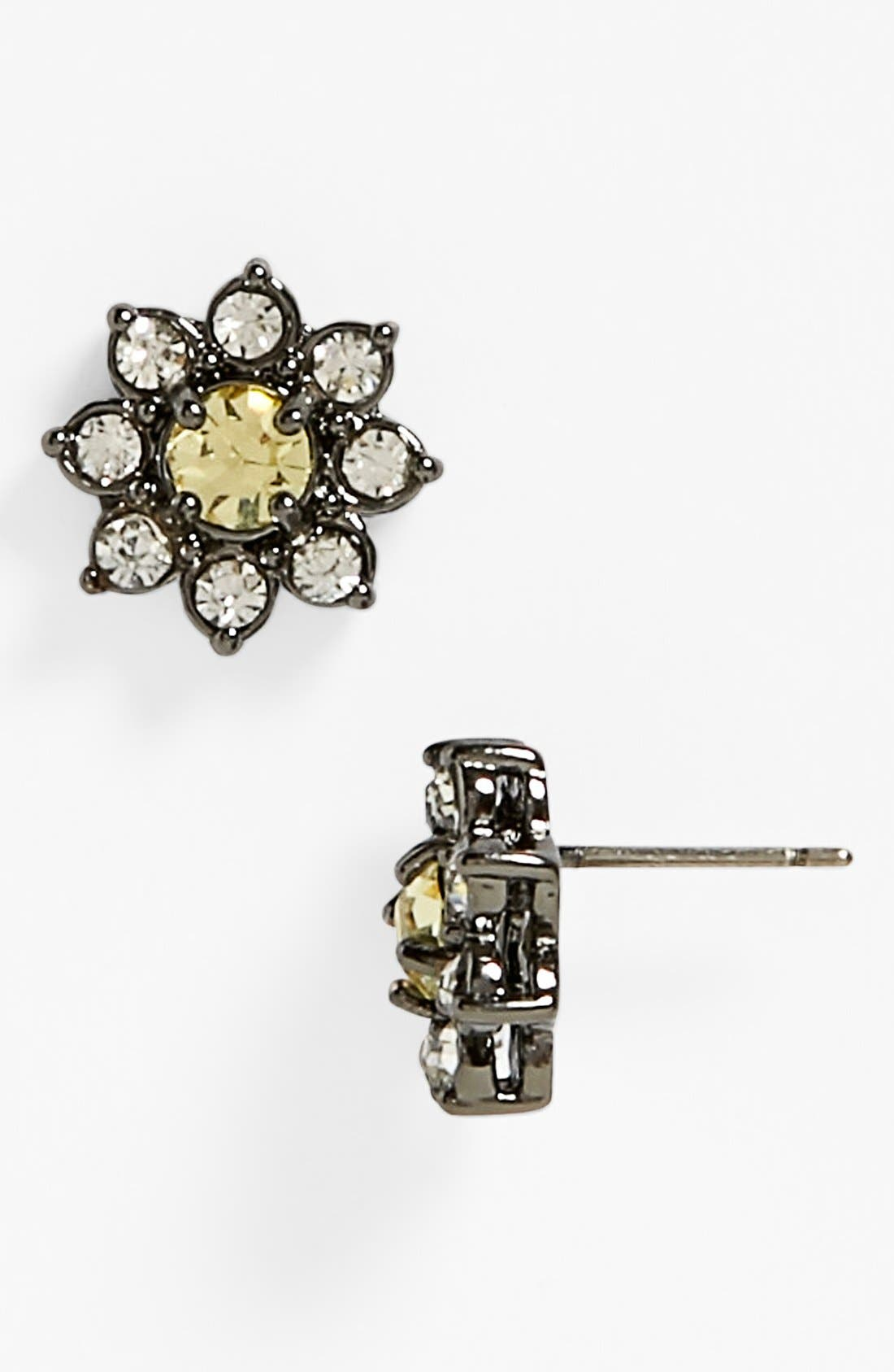 Main Image - Juicy Couture 'Brilliant Blooms' Flower Stud Earrings