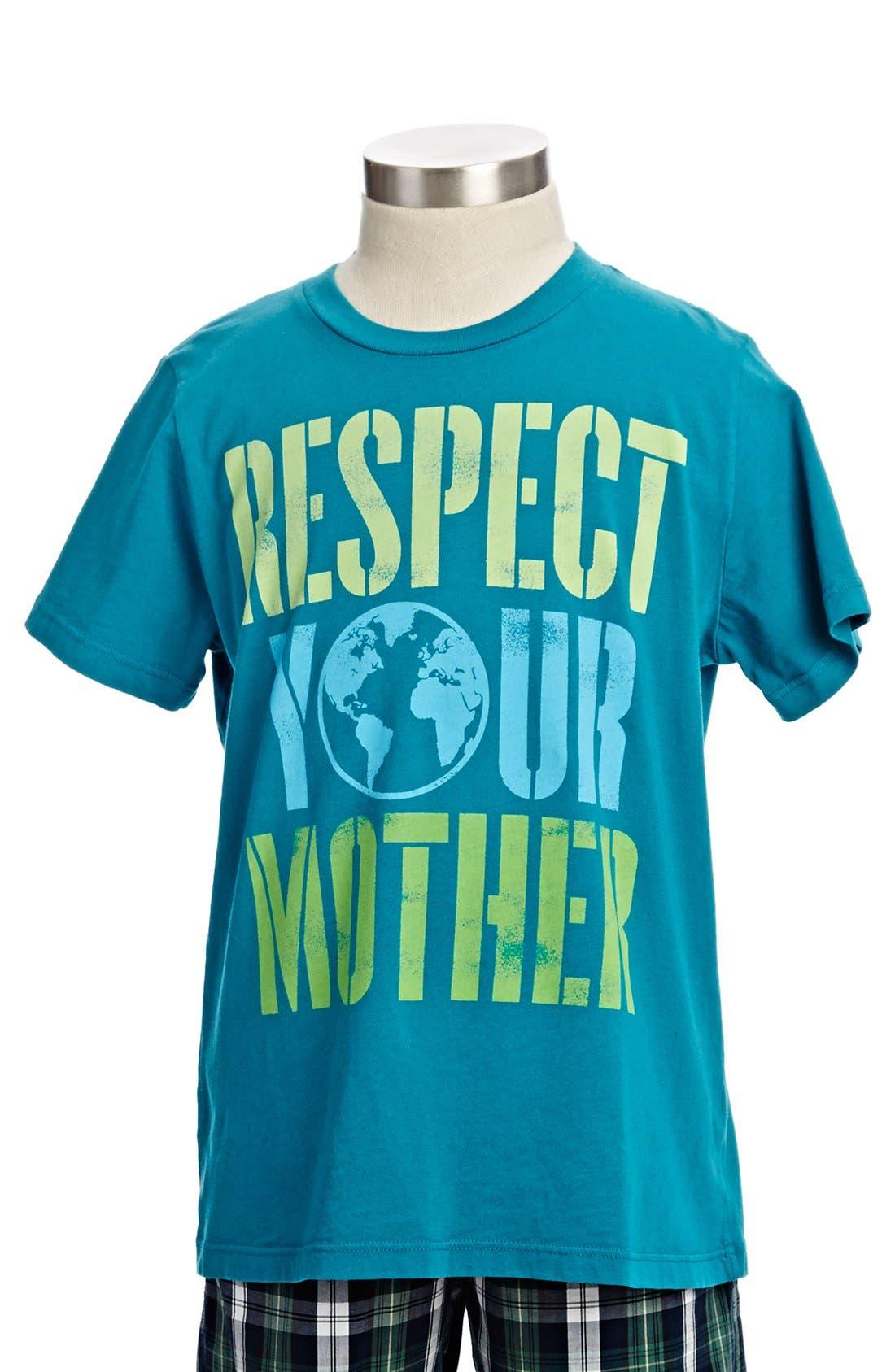 Main Image - Peek T-Shirt & Cargo Shorts (Little Boys & Big Boys)