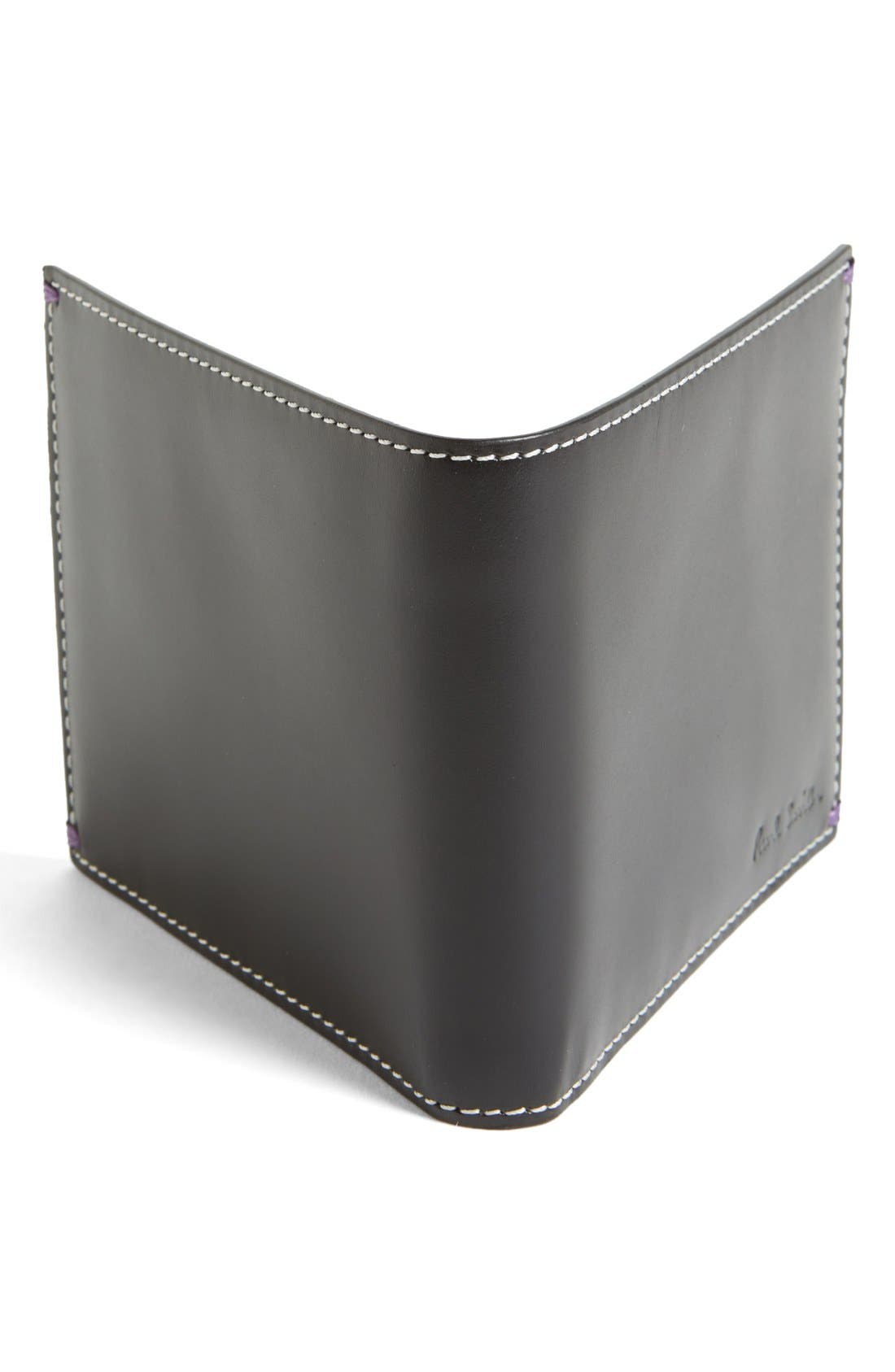 Alternate Image 3  - Paul Smith Car Print Leather Wallet