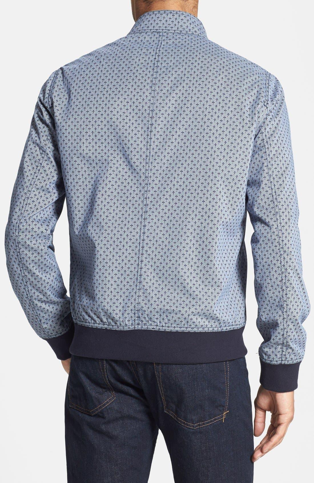 Alternate Image 2  - Ted Baker London 'Lorien' Printed Cotton Bomber Jacket