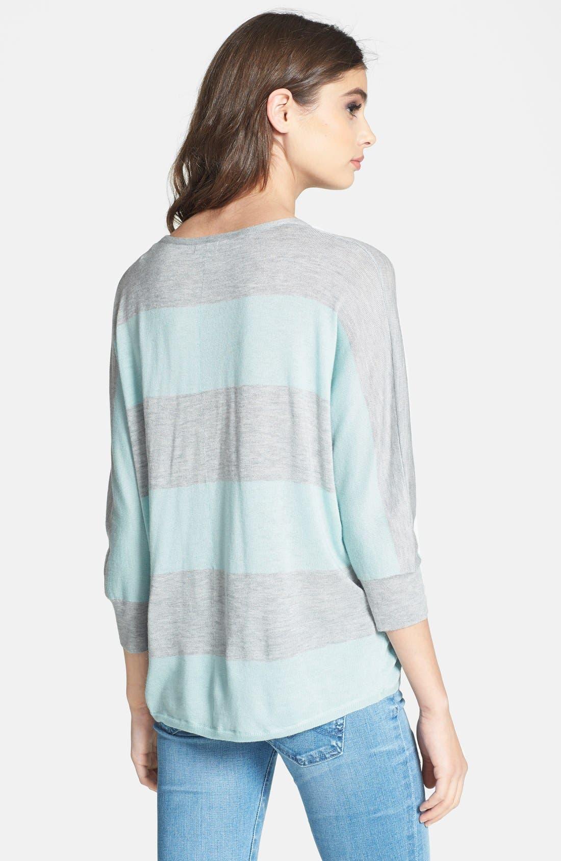 Alternate Image 2  - Splendid Stripe Dolman Sleeve Top