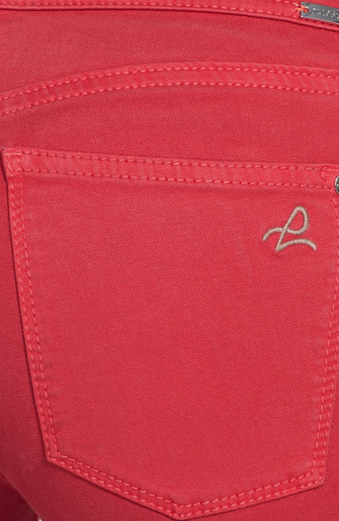 Alternate Image 3  - DL1961 'Tony' Crop Skinny Jeans (Mott)