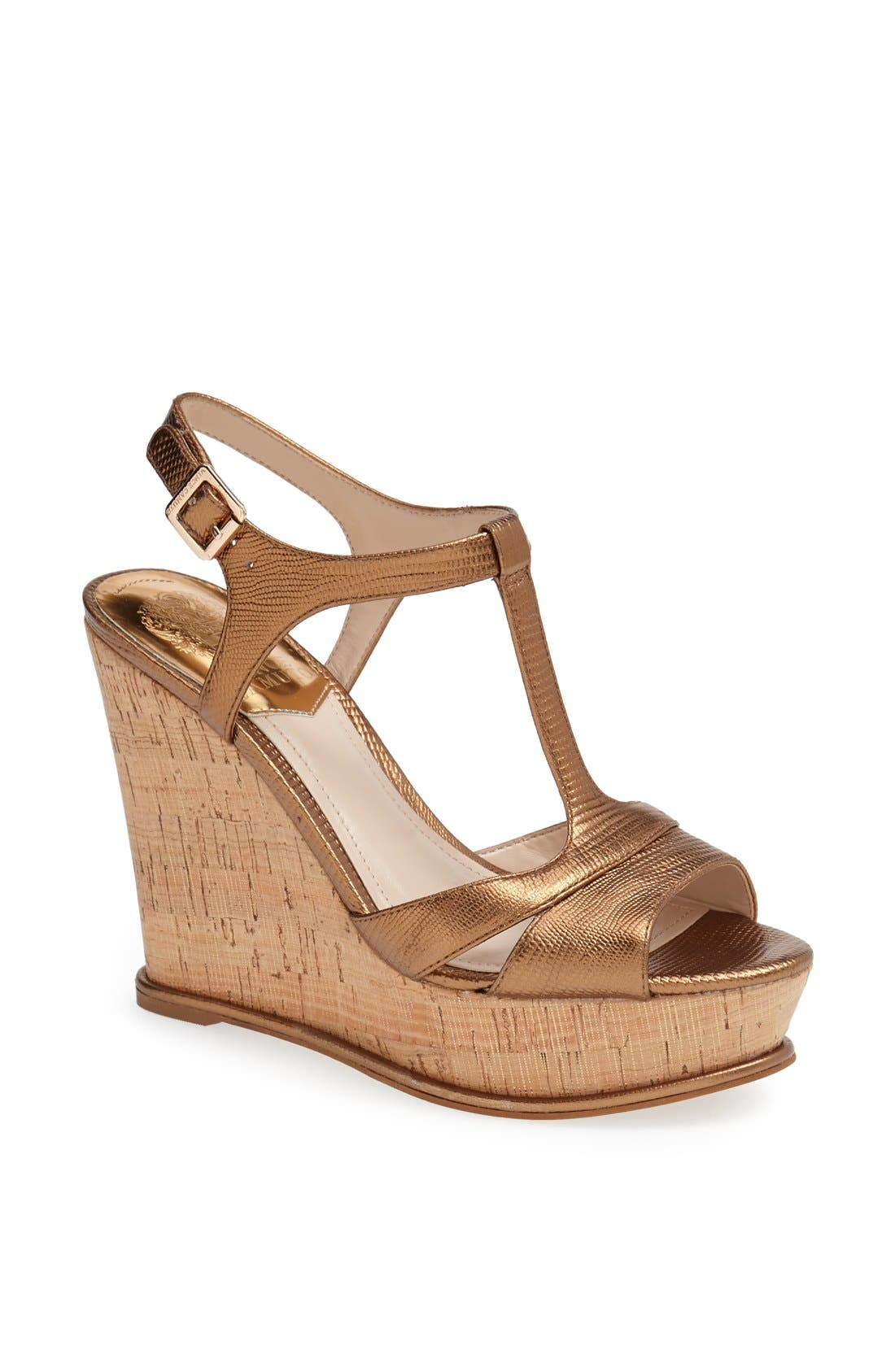 Alternate Image 1 Selected - Vince Camuto 'Inslo' Wedge Sandal