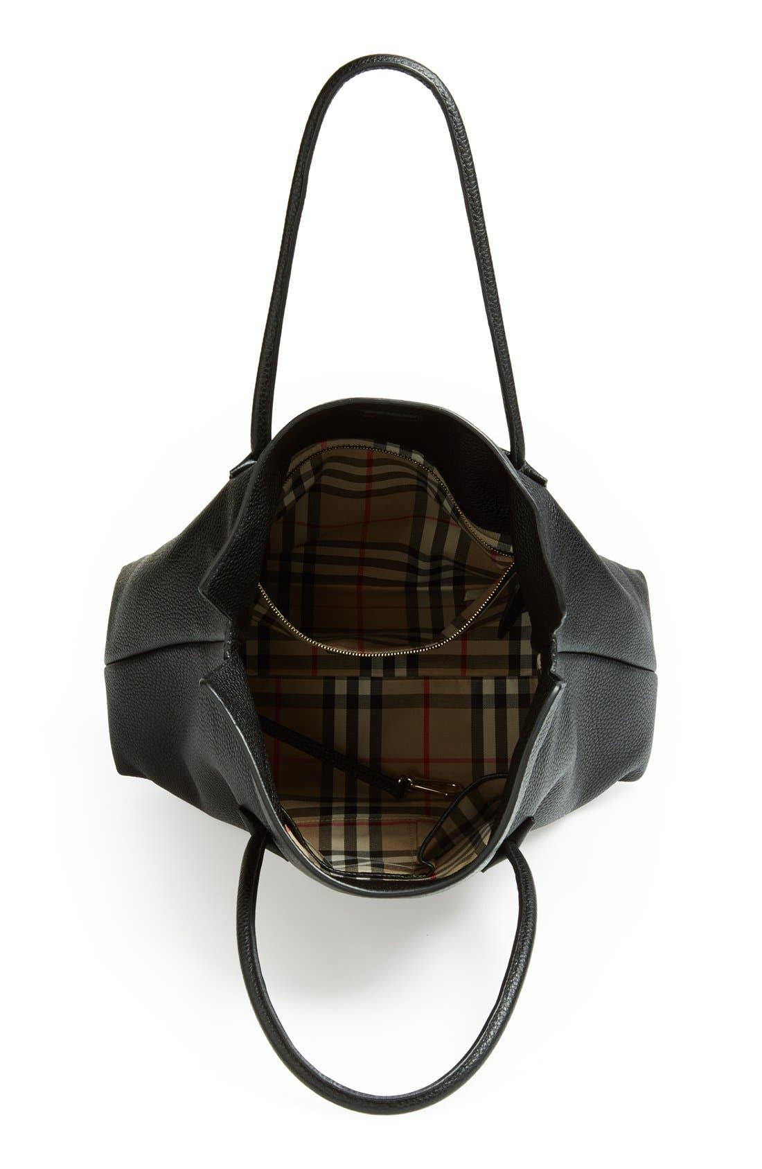 Alternate Image 3  - Burberry 'Baynard' Leather Tote