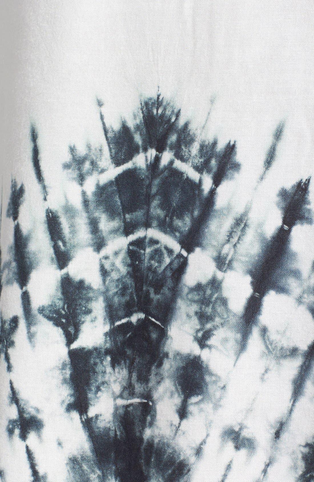 Alternate Image 3  - ViX Swimwear 'Oba' Tie Dye Cover-Up Caftan