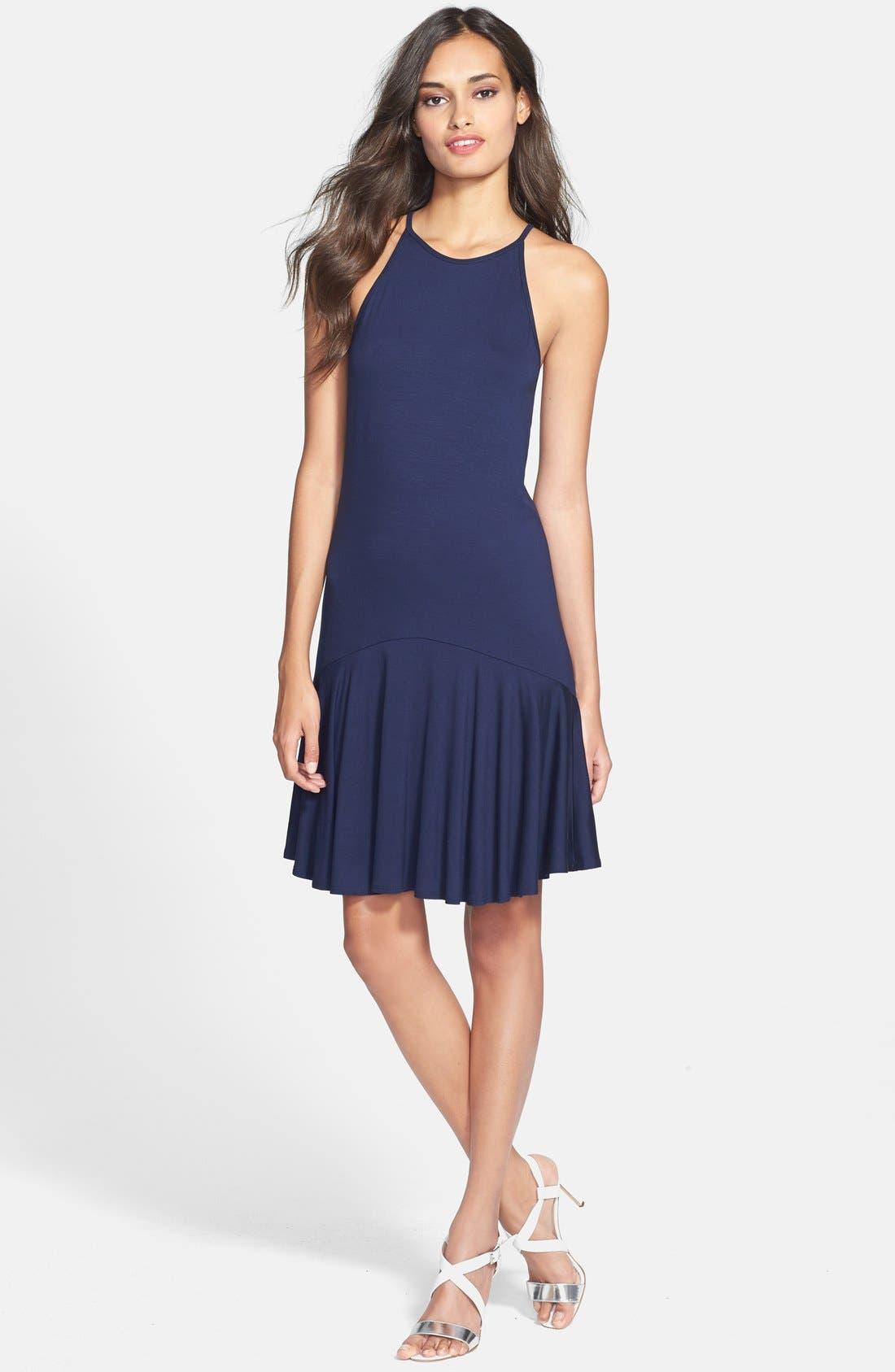 Alternate Image 1 Selected - Trina Turk 'Glenna' Jersey A-Line Dress