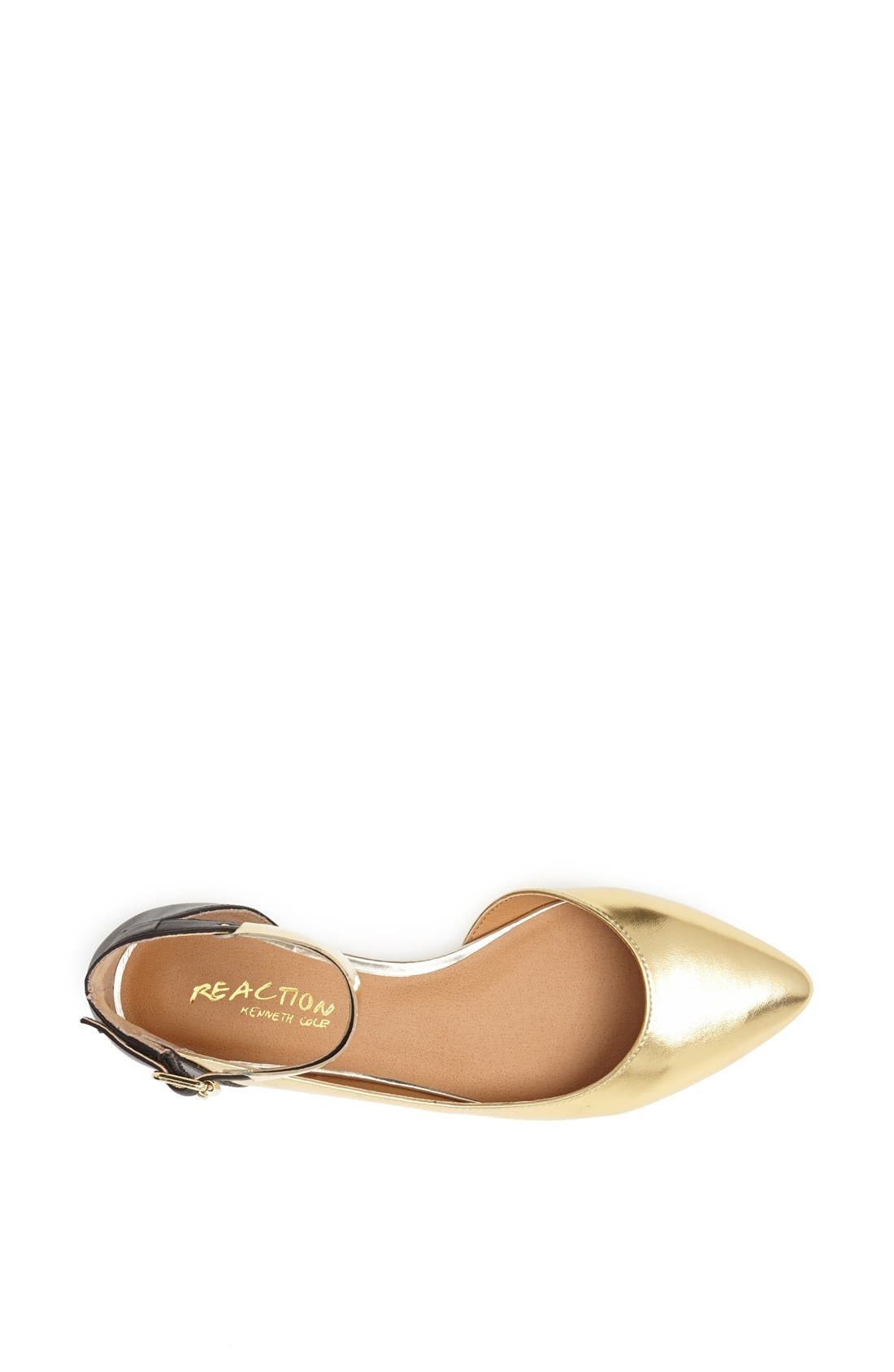 Alternate Image 3  - Kenneth Cole Reaction 'Pose Off 2' Cuff Ankle Strap Half d'Orsay Sandal