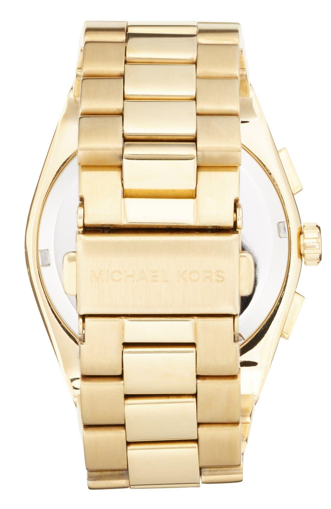 Alternate Image 2  - Michael Kors 'Channing' Chronograph Bracelet Watch, 38mm (Nordstrom Exclusive)