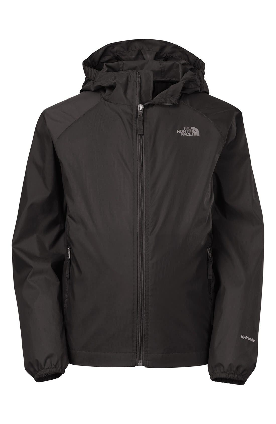 Alternate Image 1 Selected - The North Face 'Altimont' Windbreaker Hoodie (Little Boys & Big Boys)