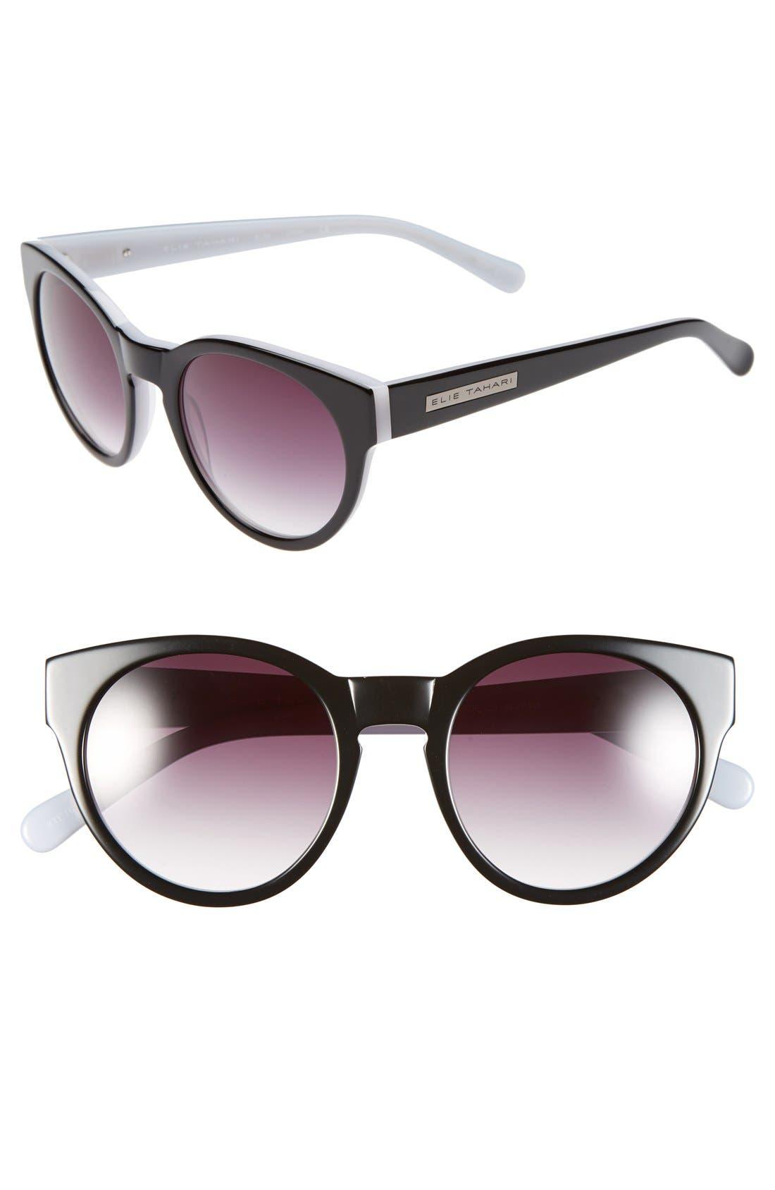 Alternate Image 1 Selected - Elie Tahari 52mm Retro Sunglasses