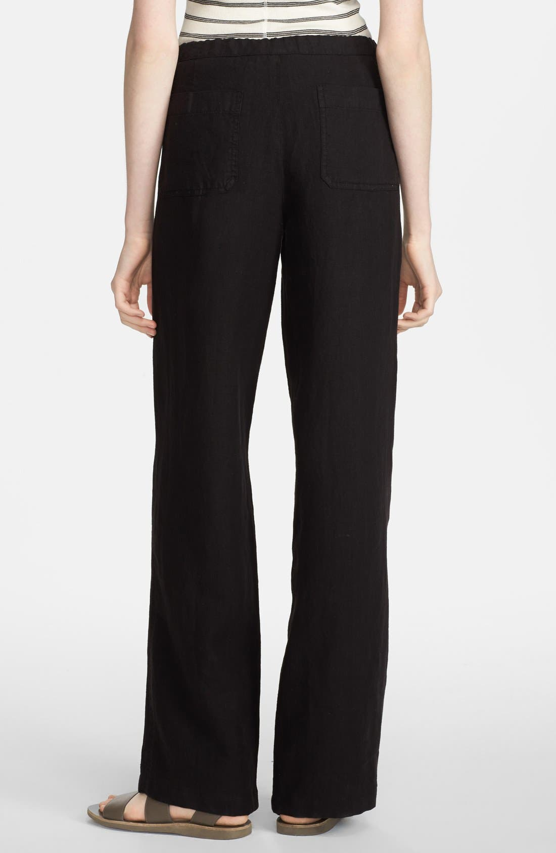 Alternate Image 3  - Vince 'Beach' Linen Pants