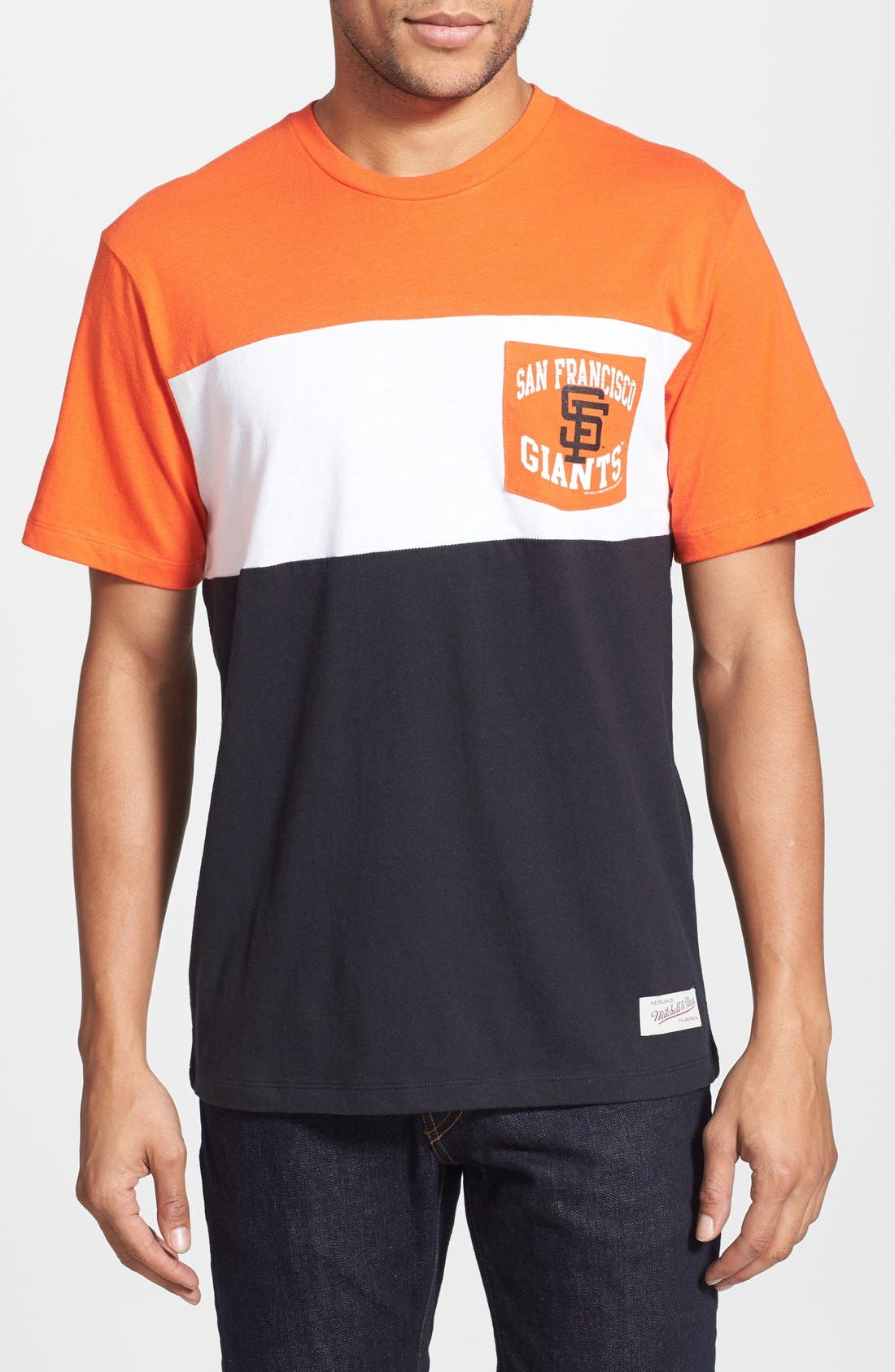 Main Image - Mitchell & Ness 'San Francisco Giants - Margin of Victory' Tailored Fit T-Shirt