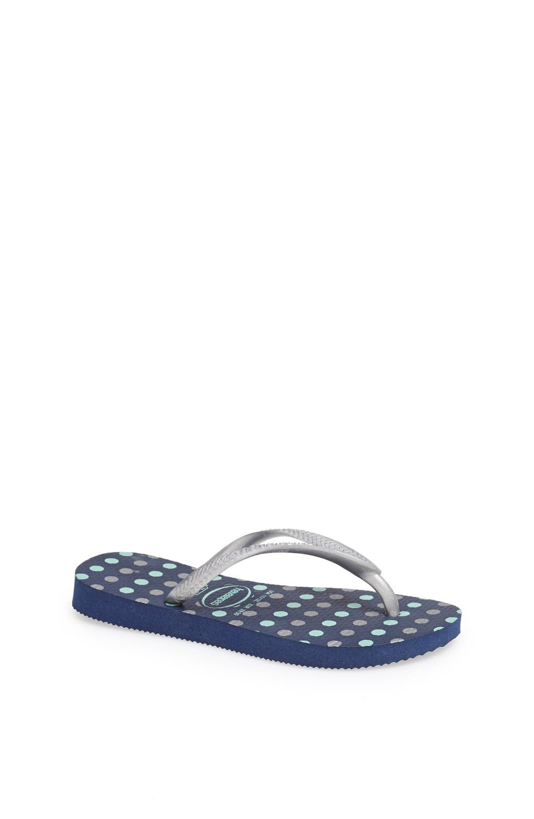 Alternate Image 1 Selected - Havaianas 'Slim Fresh' Flip Flop (Toddler & Little Kid)
