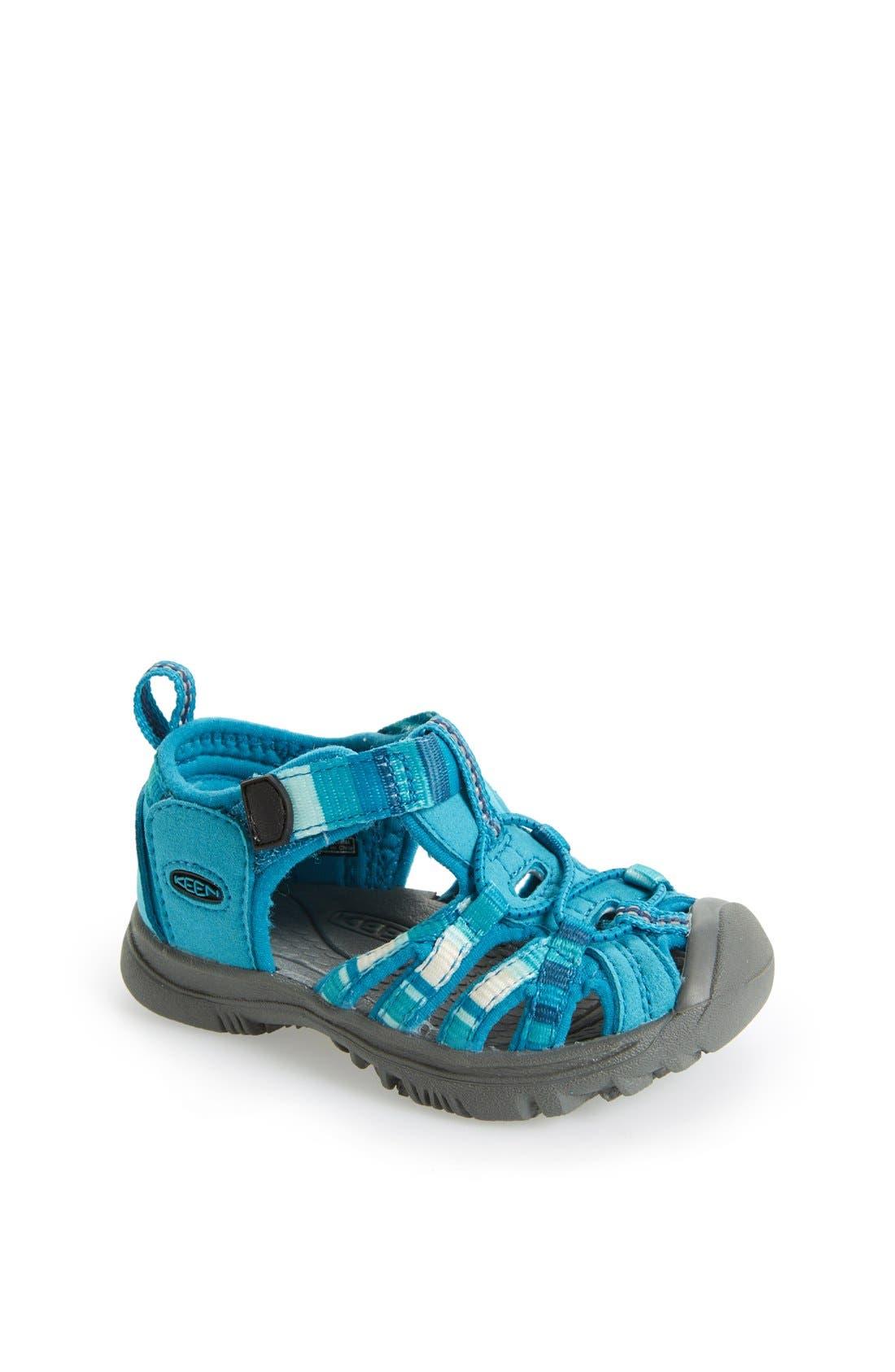 Alternate Image 1 Selected - Keen 'Whisper' Sandal (Baby & Walker)