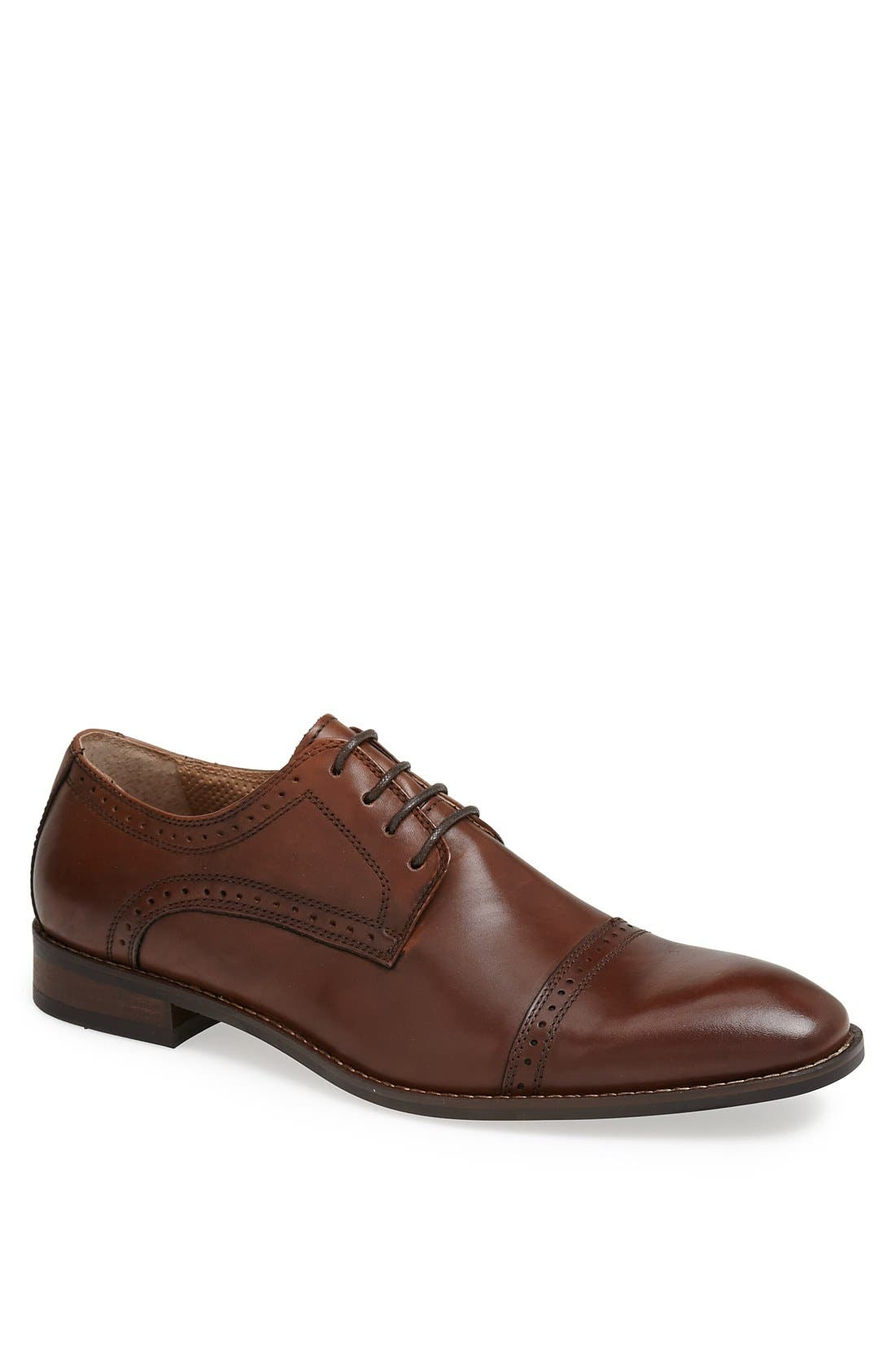 Alternate Image 1 Selected - Vince Camuto 'Rao' Cap Toe Derby (Men)