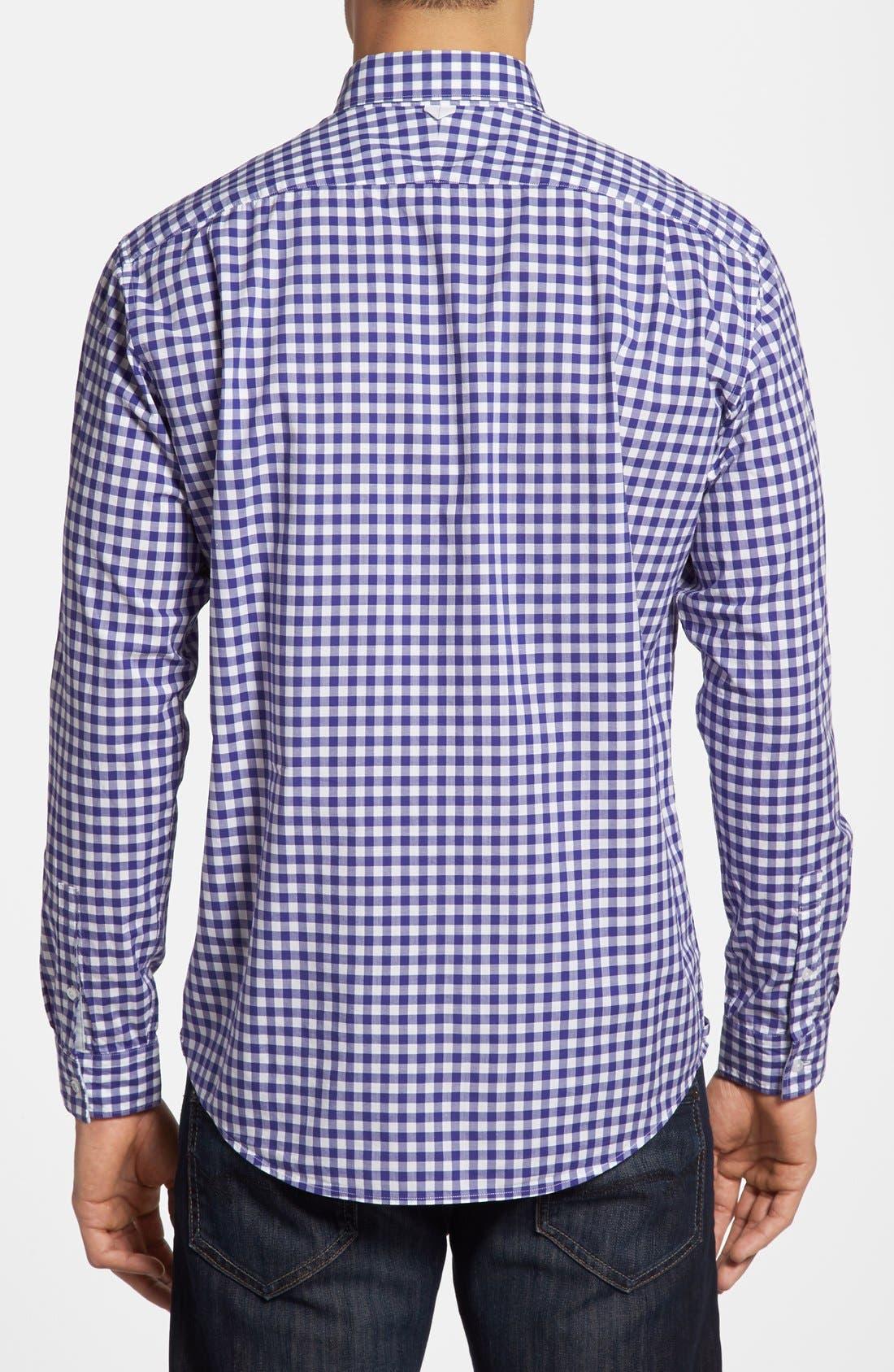 Alternate Image 2  - Lacoste Gingham Sport Shirt