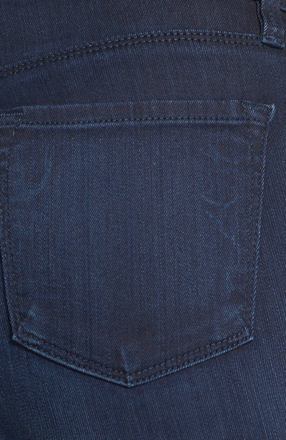 Alternate Image 3  - J Brand '620' Skinny Jeans (Darkness)