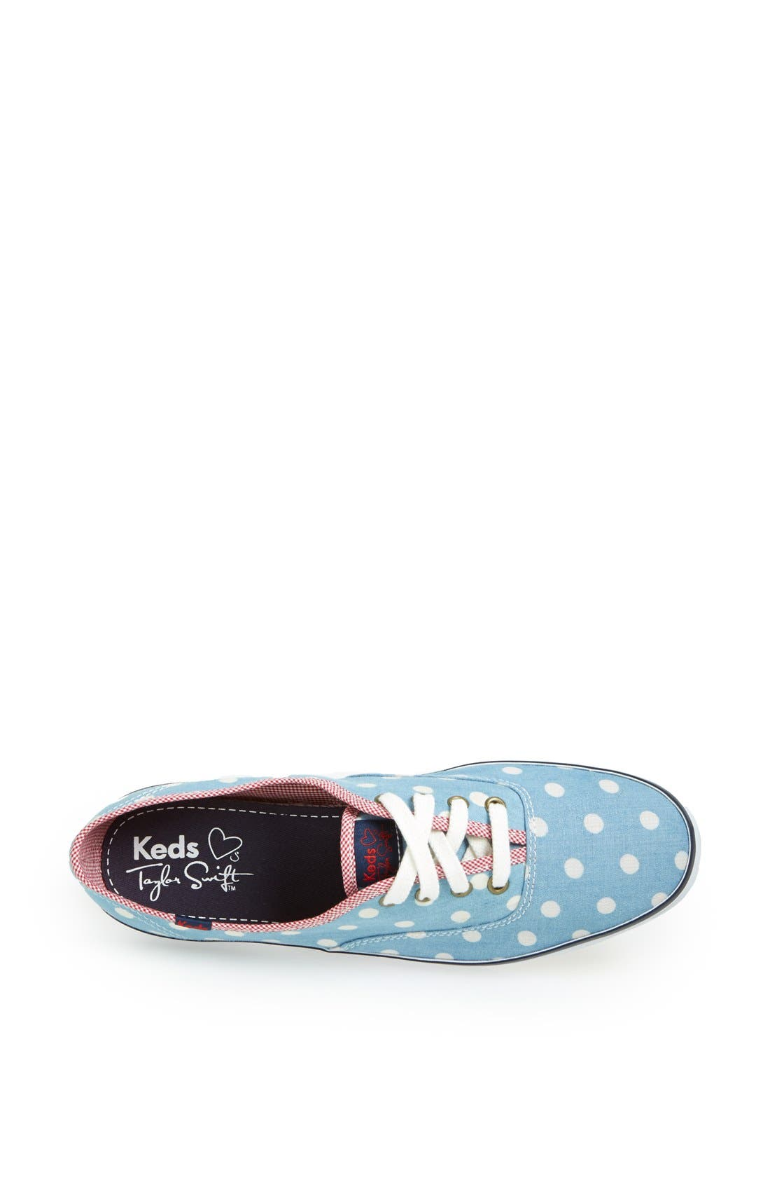 Alternate Image 3  - Keds® Taylor Swift 'Champion Polka Dot' Sneaker (Women)