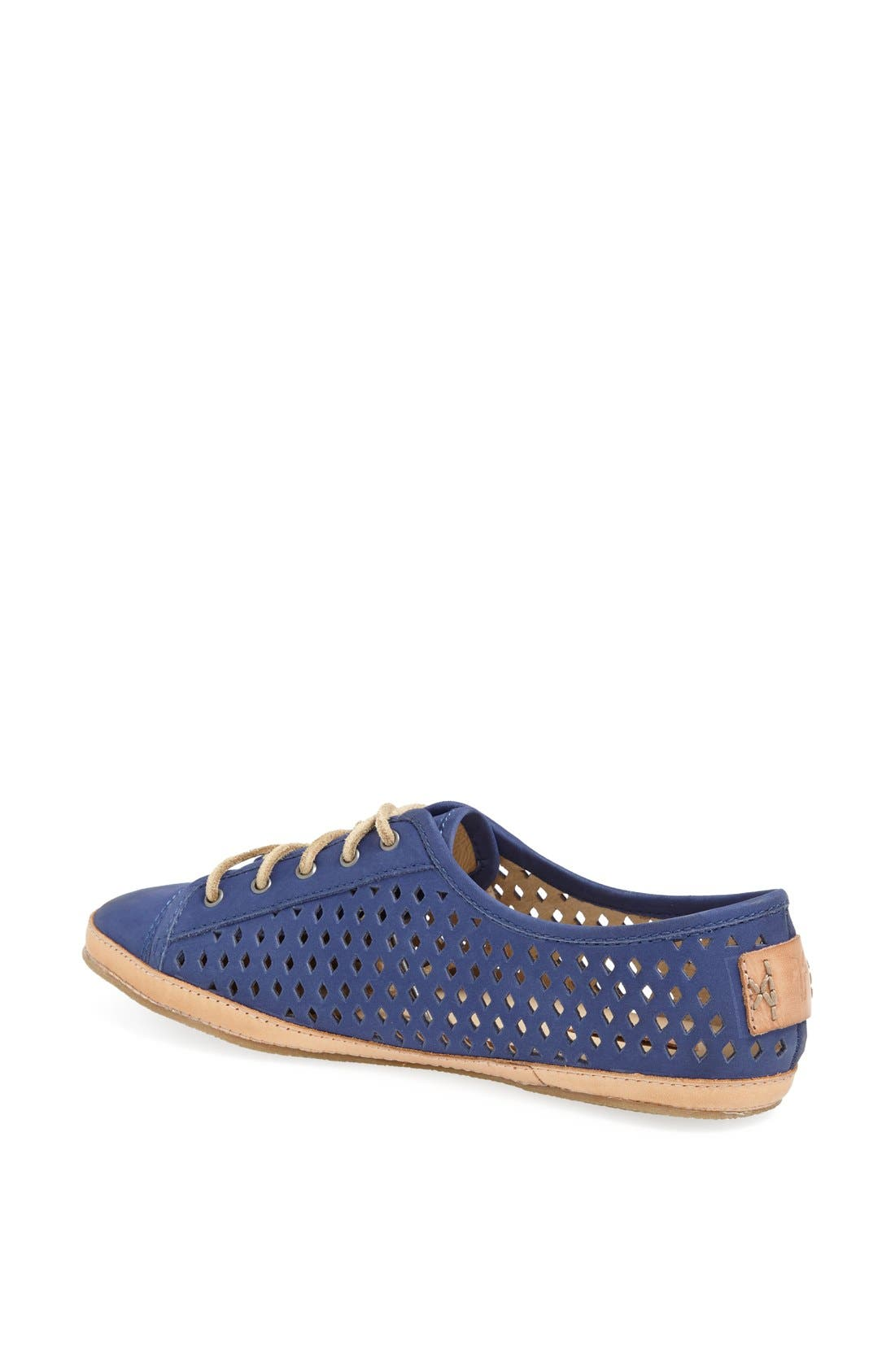 Alternate Image 2  - Frye 'Teagan Low' Perforated Leather Lace-Up
