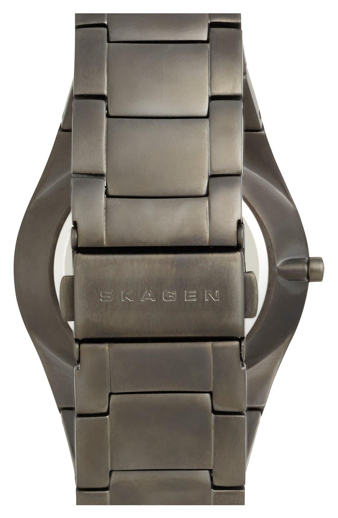 Alternate Image 2  - Skagen 'Aabye' Multifunction Bracelet Watch, 45mm (Nordstrom Exclusive)
