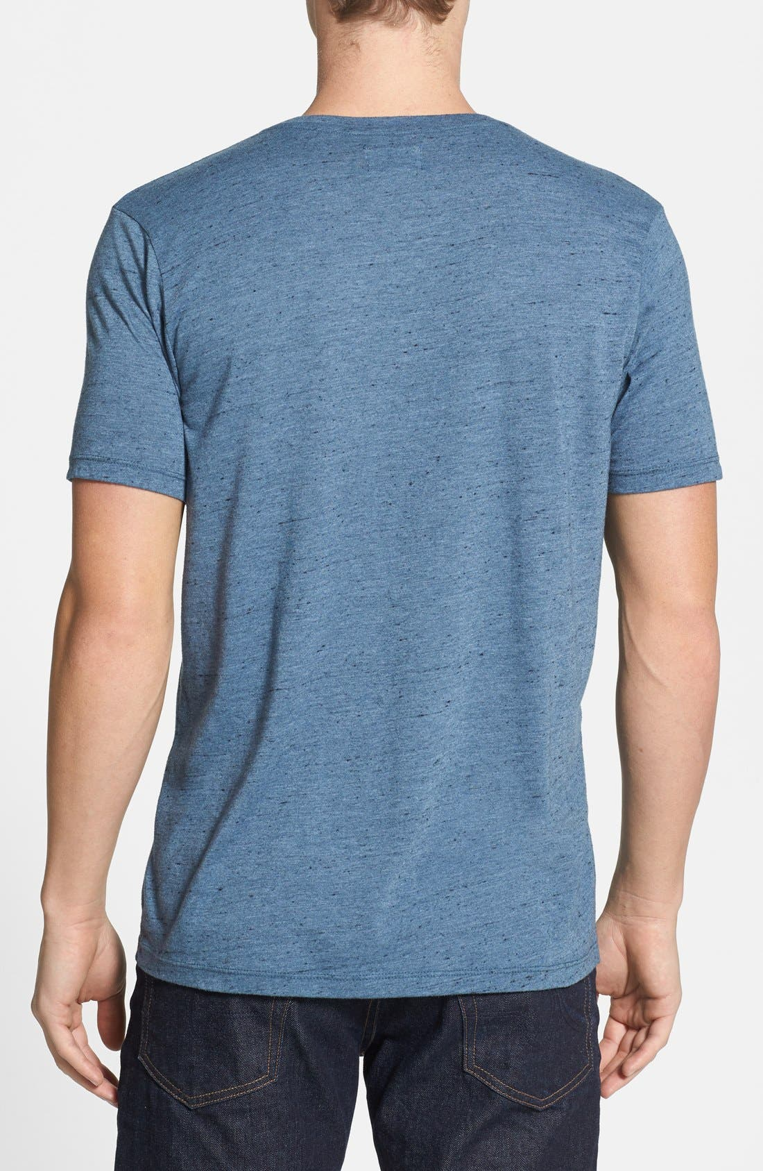 Alternate Image 2  - AG Triblend V-Neck T-Shirt