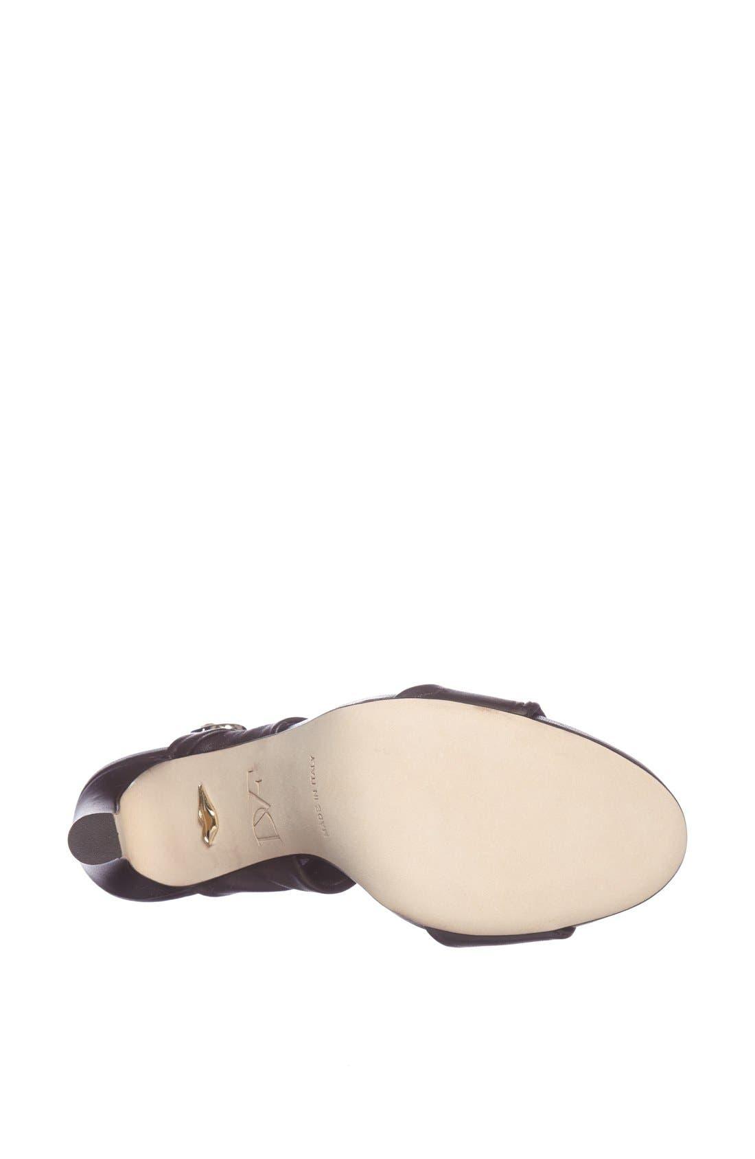 Alternate Image 3  - Diane von Furstenberg 'Jacey' Leather Sandal