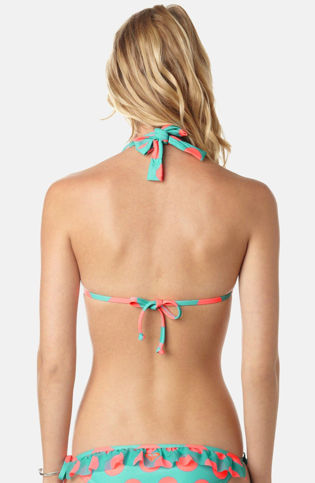 Alternate Image 2  - Roxy 'Connect the Dots' Knotted Boost Bikini Top