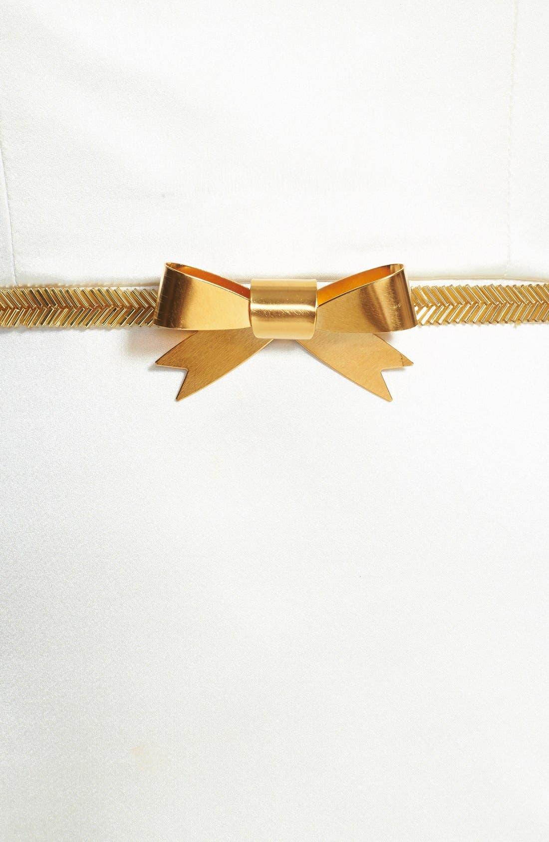 Alternate Image 2  - twigs & honey Gilded Bow Sash