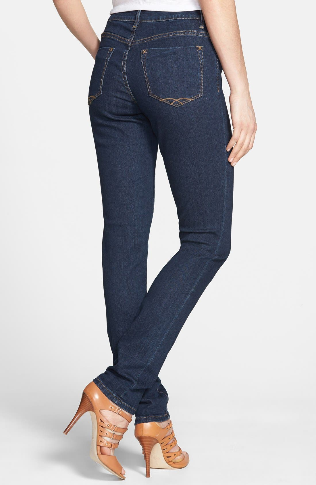 Alternate Image 2  - Christopher Blue 'Sophia' Stretch Skinny Jeans