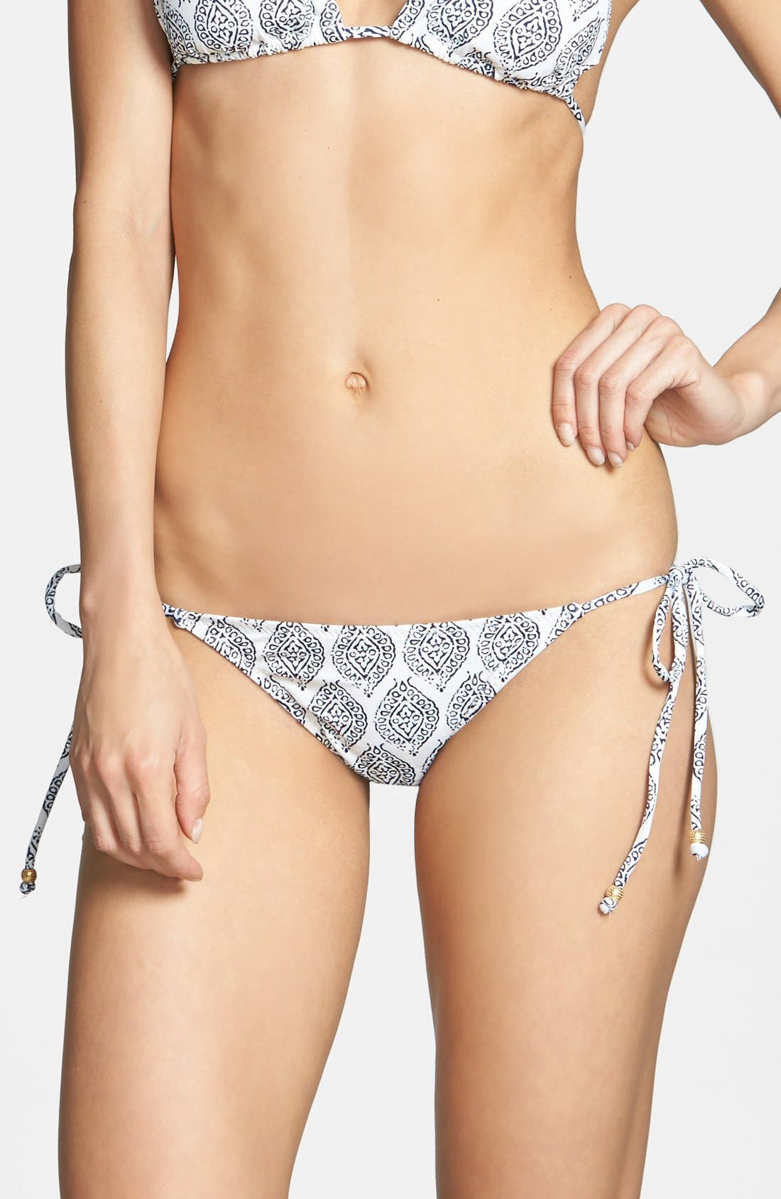 Alternate Image 2  - Eberjey 'Batik Batik Kate' Side Tie Bikini Bottoms