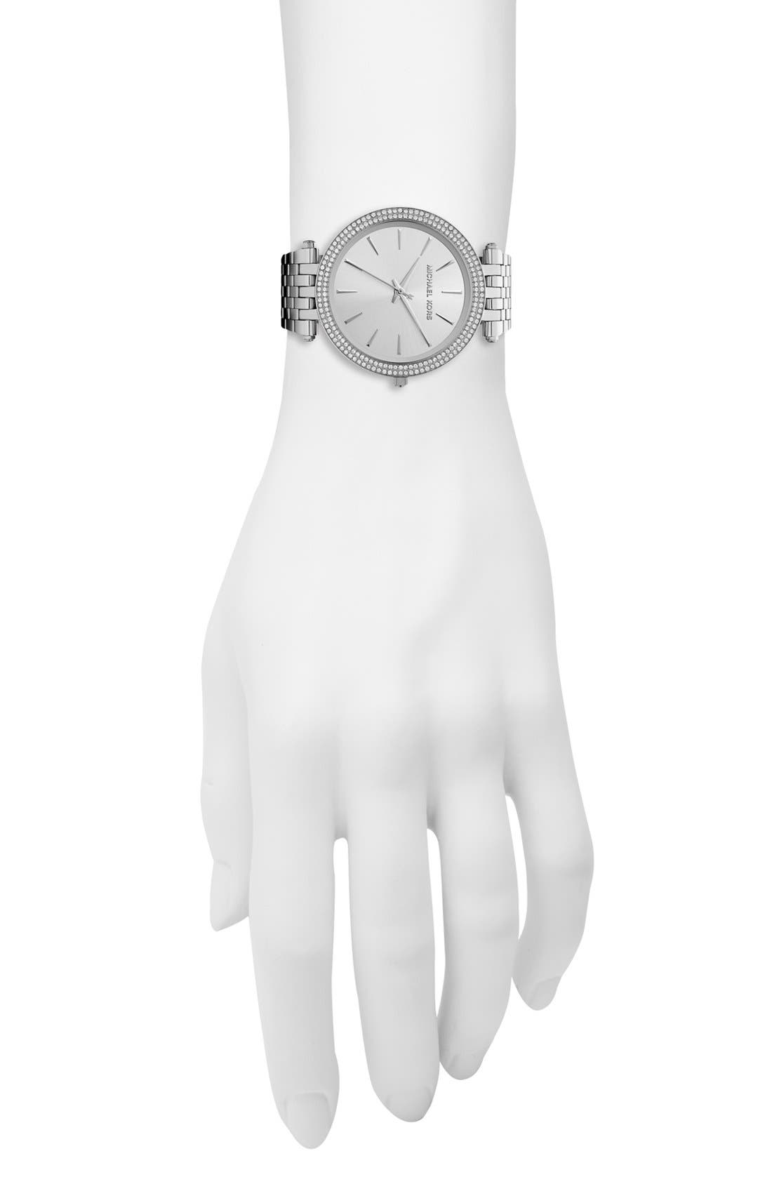 Alternate Image 4  - Michael Kors 'Darci' Round Bracelet Watch, 39mm