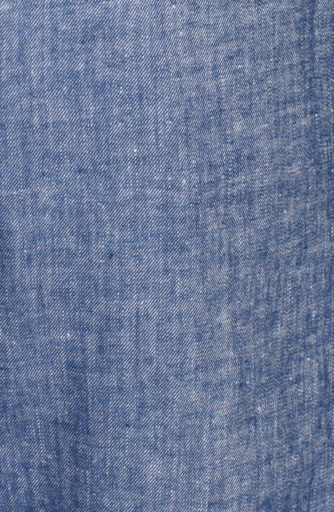 Alternate Image 3  - Theory 'Korene' Crop Chambray Pants