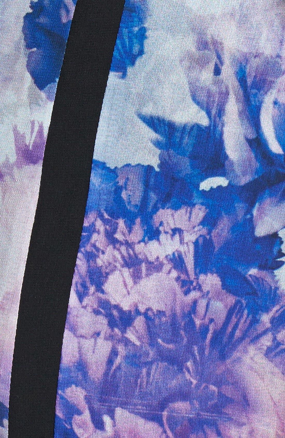 Alternate Image 4  - Black Swan 'Wells' Print Chiffon Sheath Dress