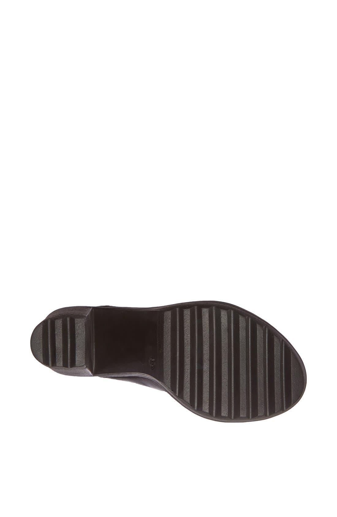 Alternate Image 4  - Topshop 'Saturn' Zip Front Sandal