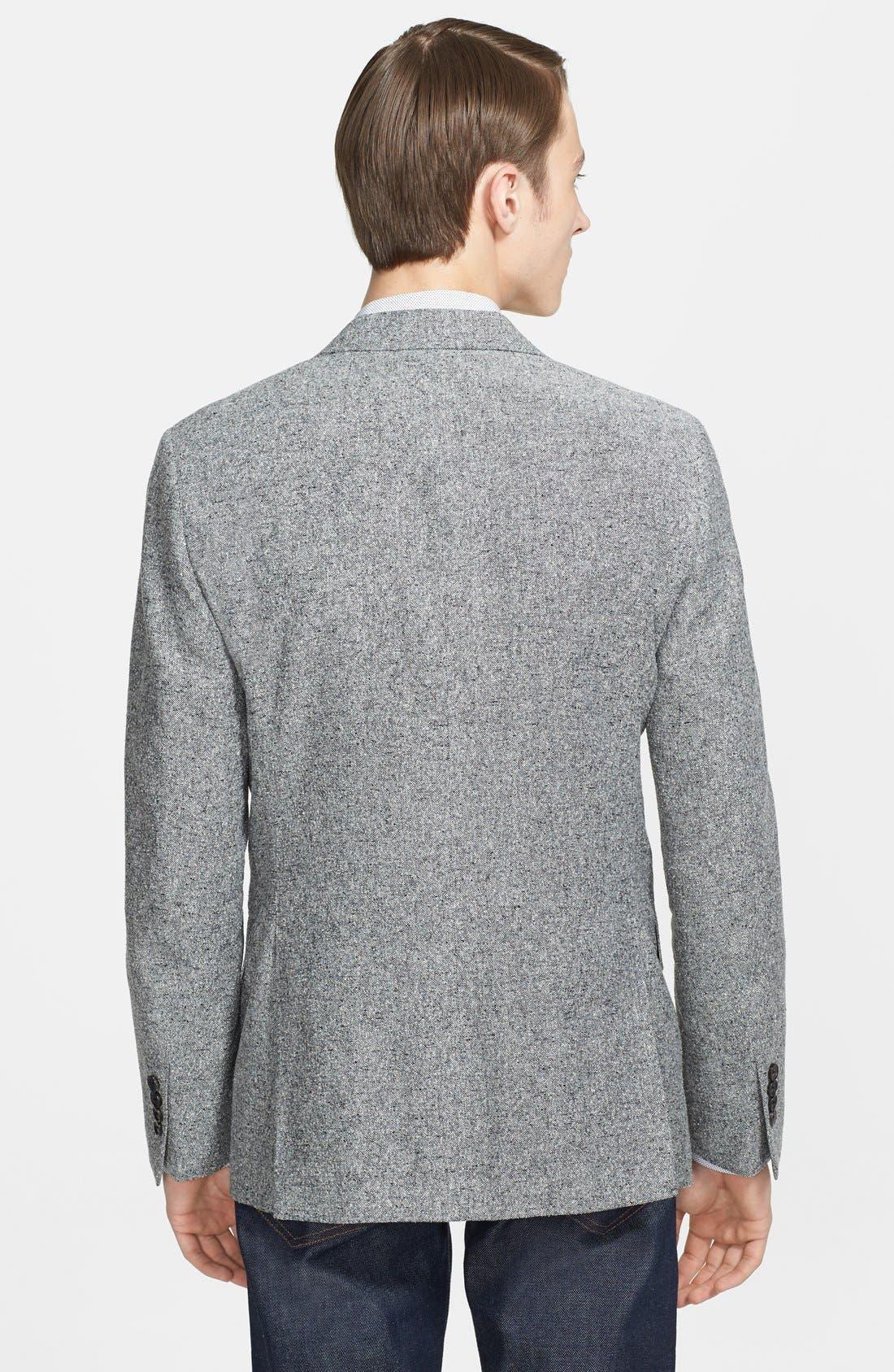 Alternate Image 2  - Billy Reid Unstructured Silk & Linen Sportcoat