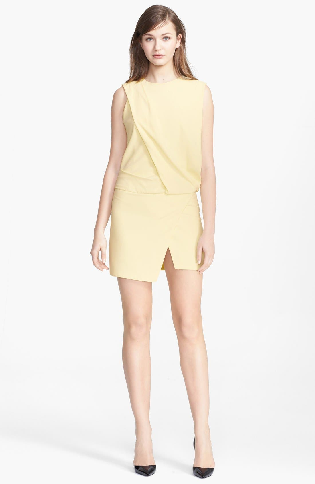 Main Image - Narciso Rodriguez Asymmetrical Front Drape Dress