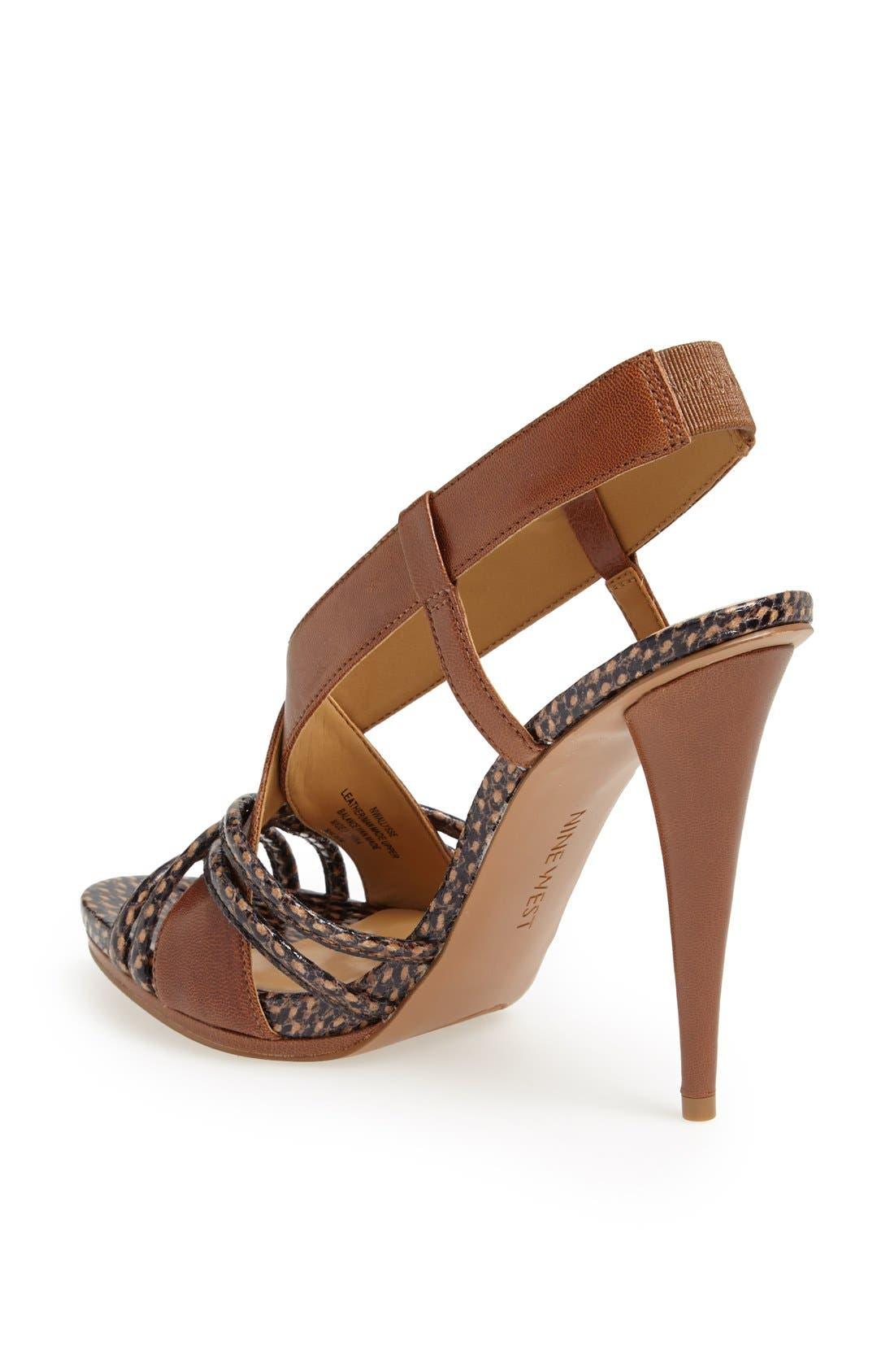 Alternate Image 2  - Nine West 'Allysse' Leather Sandal