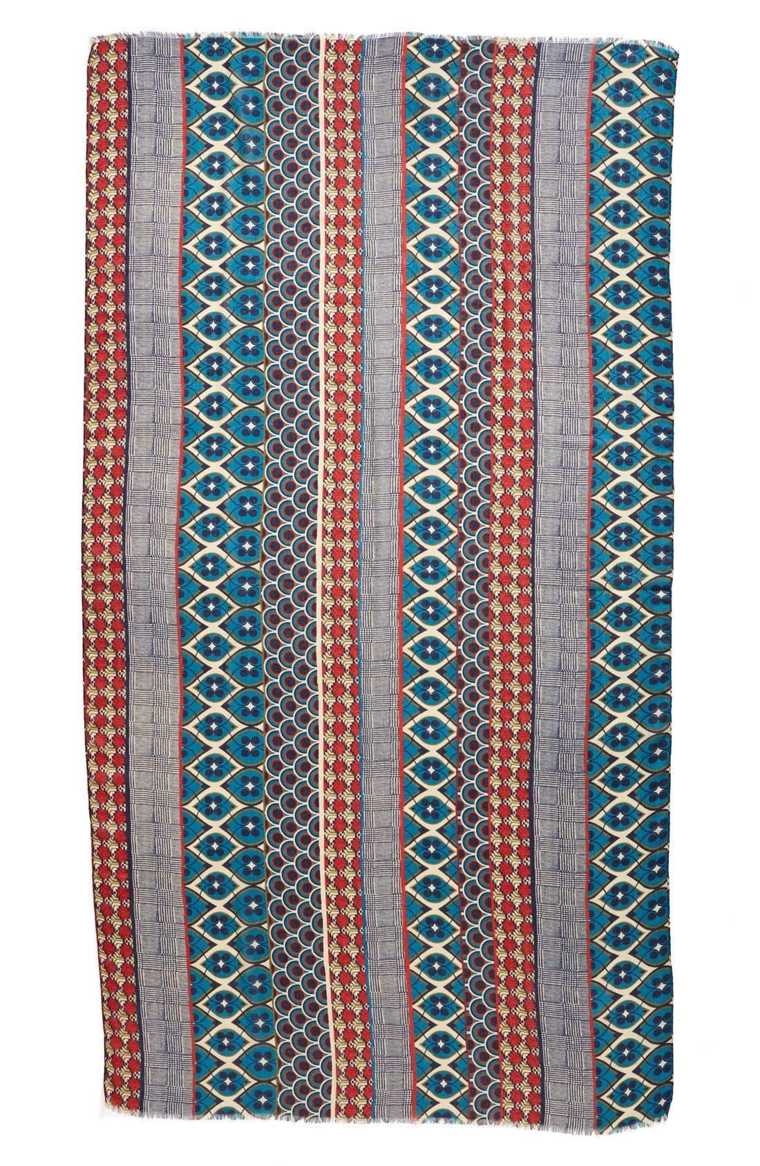 Alternate Image 2  - Halogen® Foulard Stripe Scarf