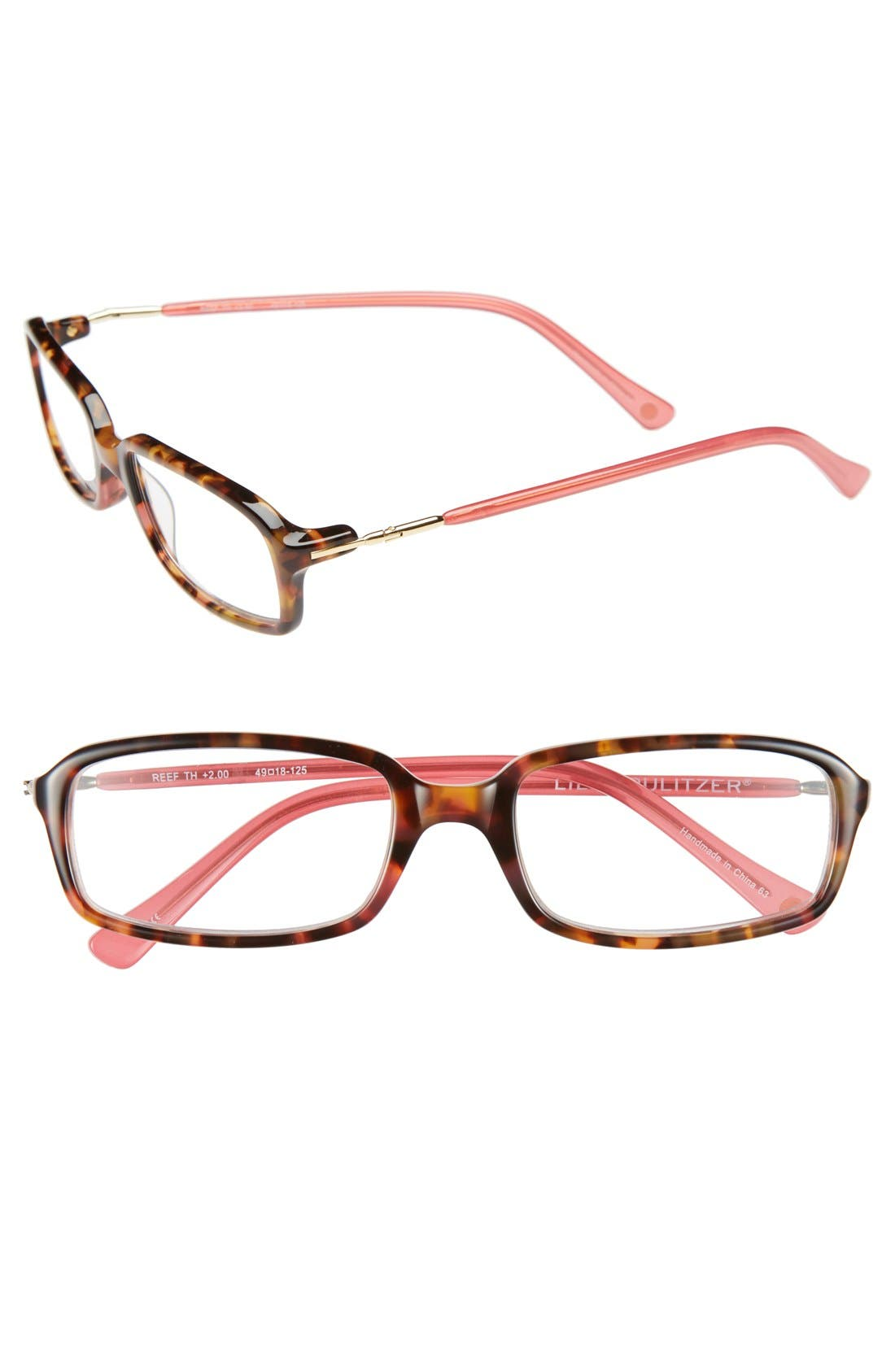 Alternate Image 1 Selected - Lilly Pulitzer® 'Reef' 49mm Reading Glasses