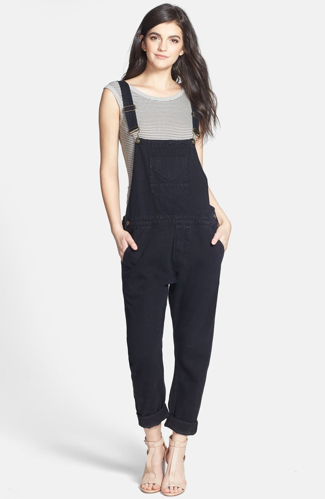 Alternate Image 1 Selected - Hudson Jeans 'London' Overall (Night Train)