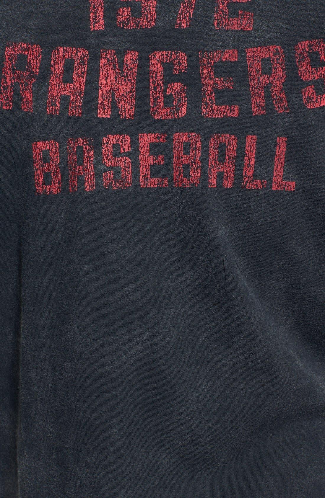 Alternate Image 3  - Red Jacket 'Texas Rangers' Trim Fit T-Shirt