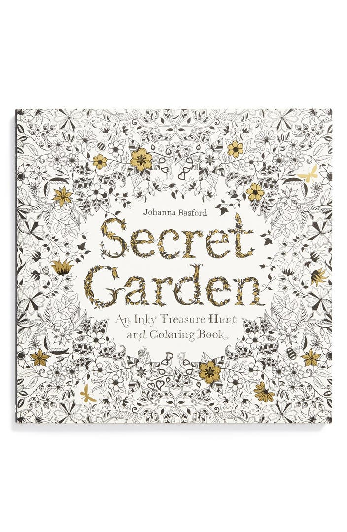 Johanna Basford Secret Garden Coloring Amp Activity Book