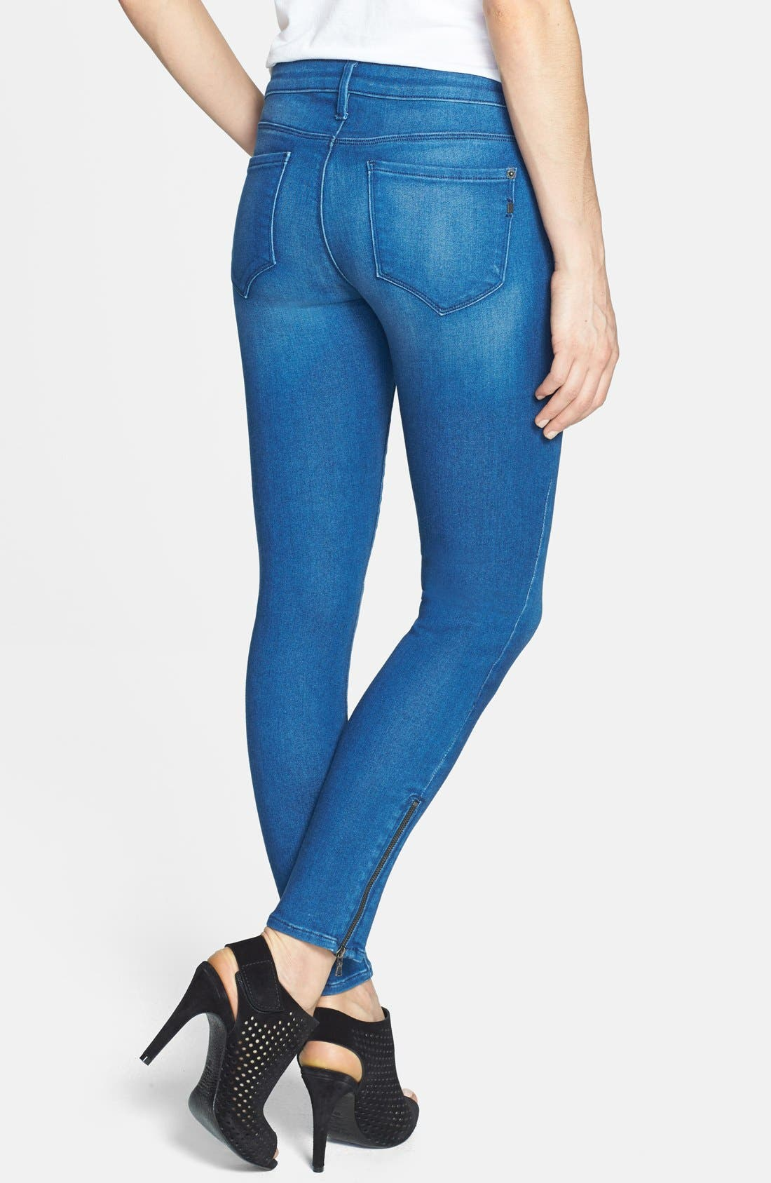 Alternate Image 2  - Genetic 'James' Skinny Ankle Jeans (Impact)