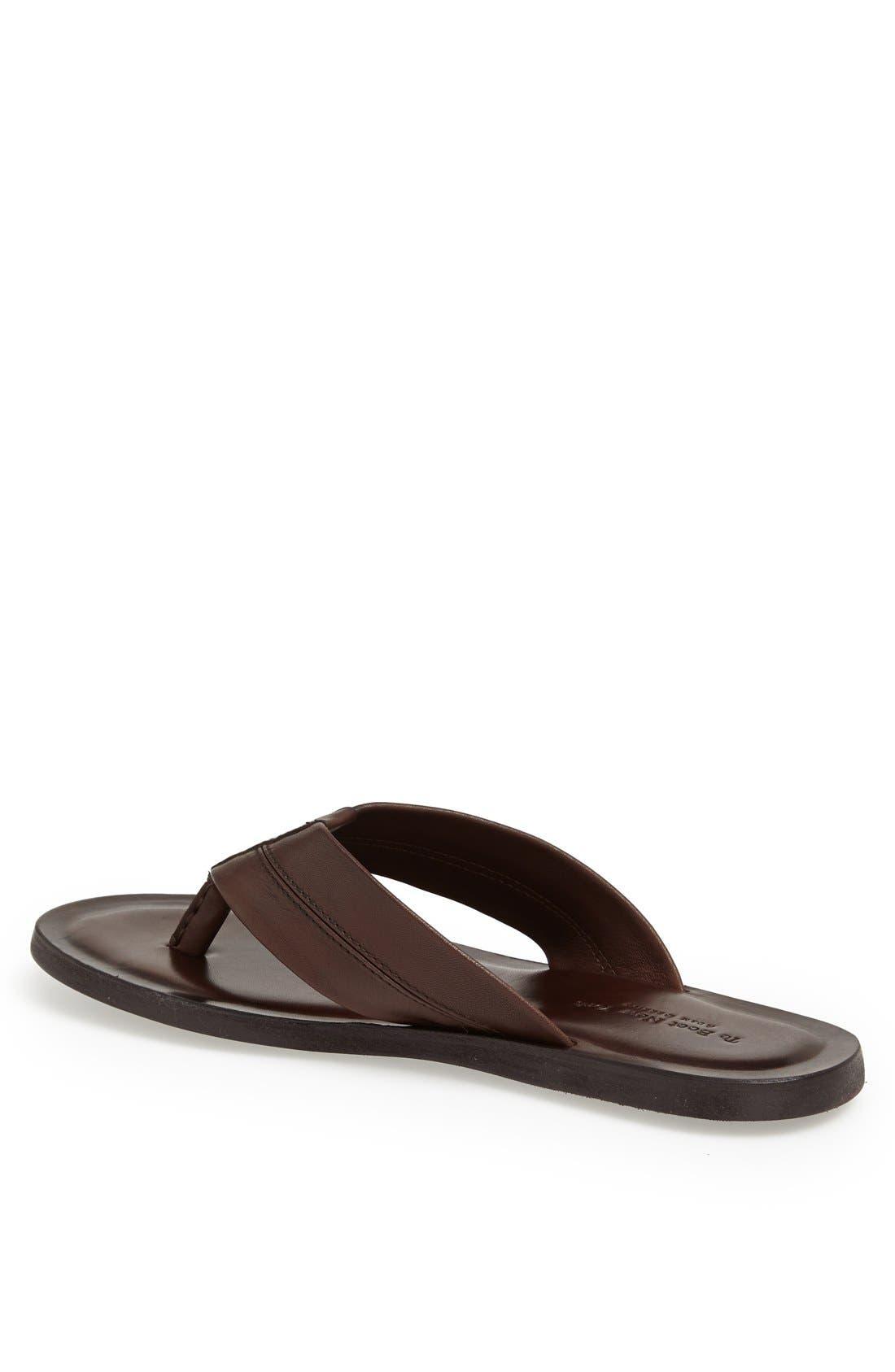 Alternate Image 2  - To Boot New York 'La Hoya' Leather Flip Flop