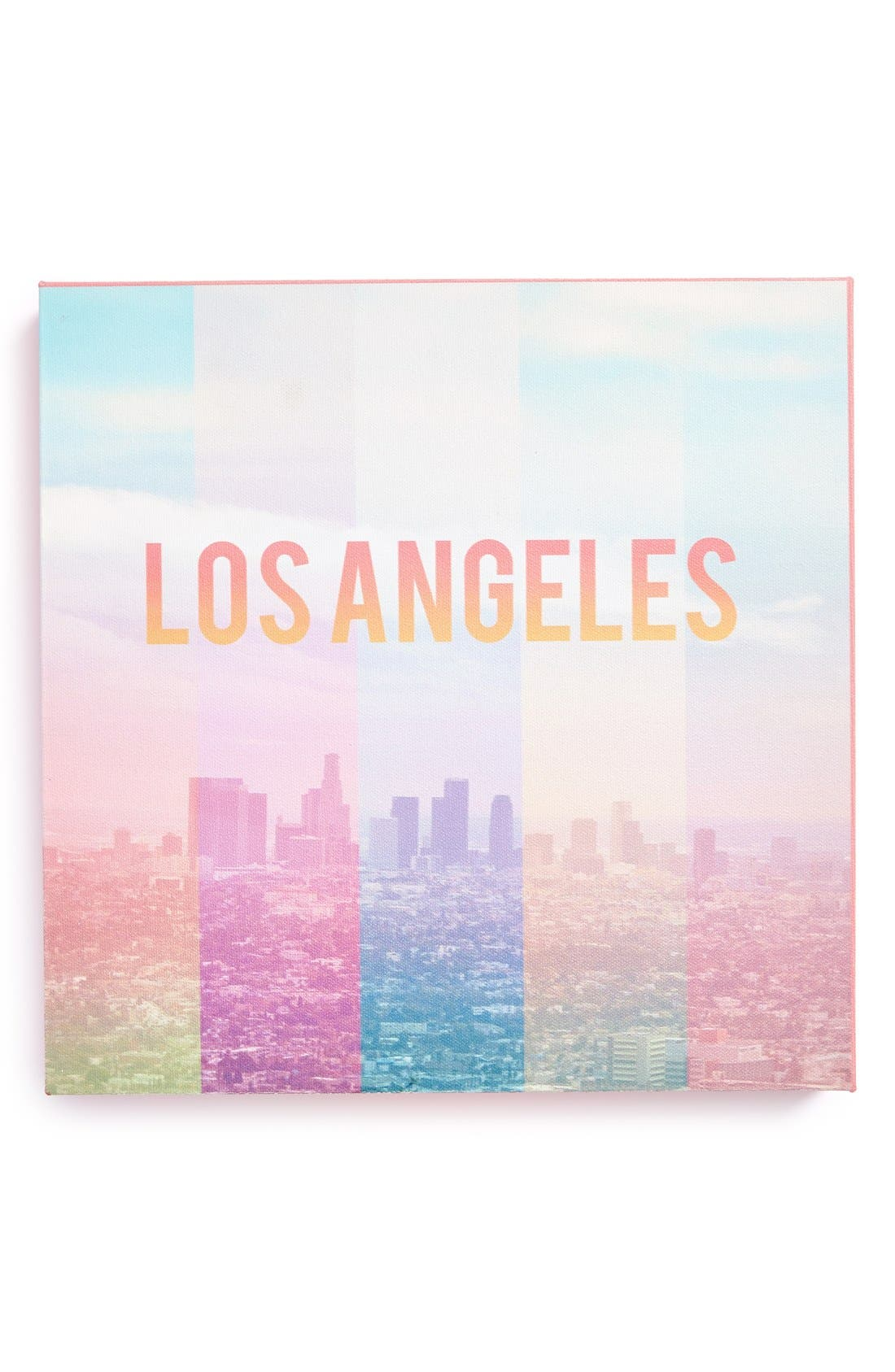Alternate Image 1 Selected - DENY Designs 'Catherine McDonald - Los Angeles' Canvas Wall Art