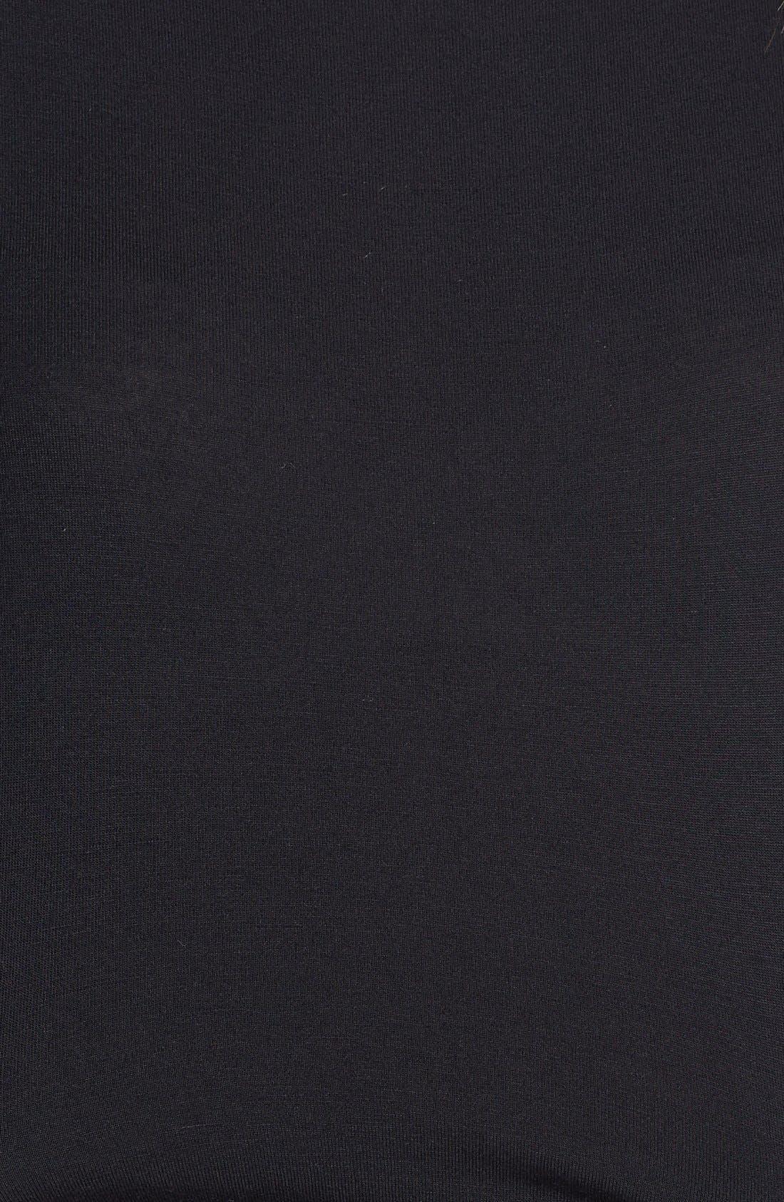 Alternate Image 3  - Loveappella Cinch Waist Stretch Knit Maxi Dress