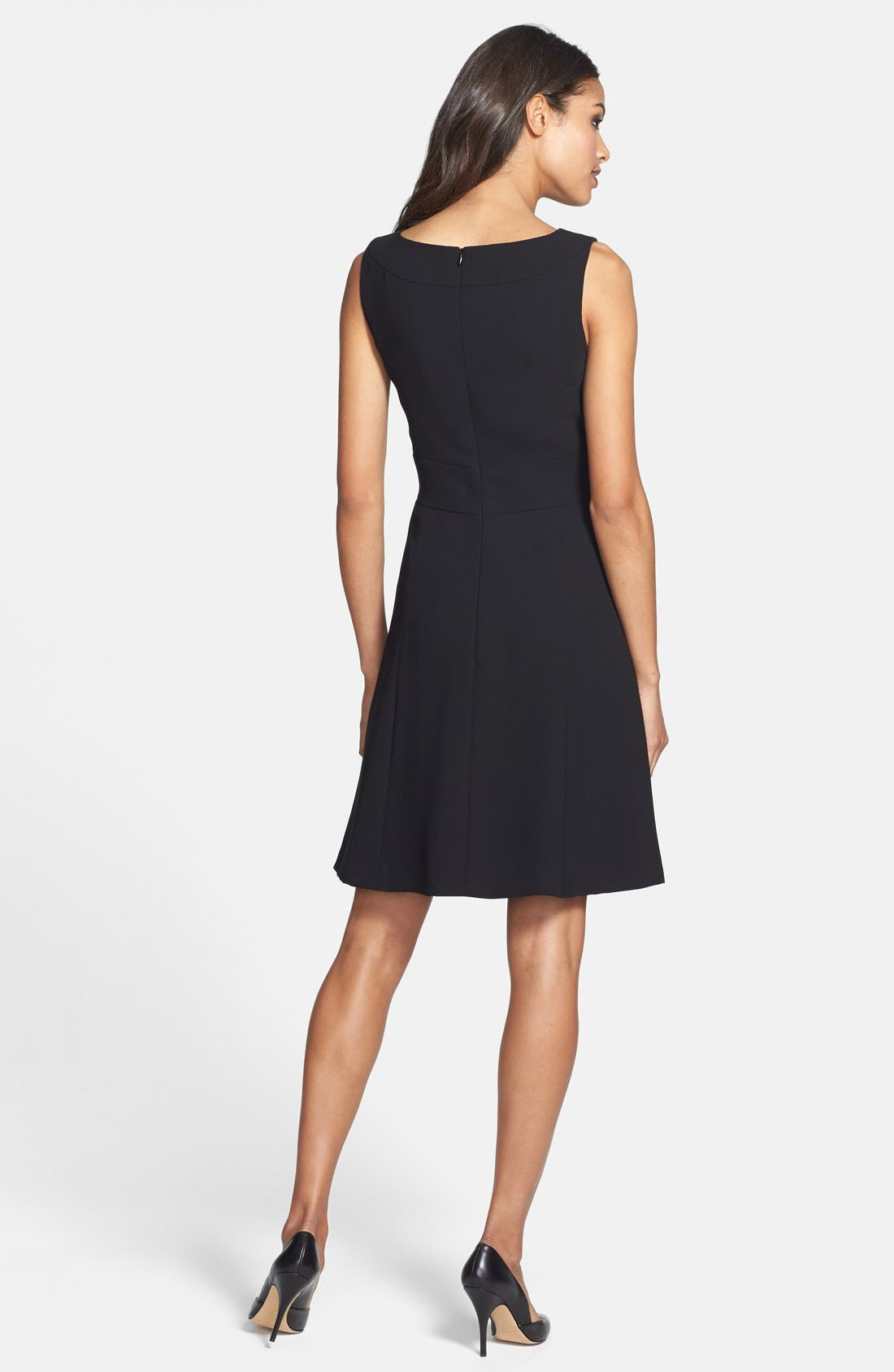 Alternate Image 2  - Tahari Sleeveless Fit & Flare Dress (Online Only)